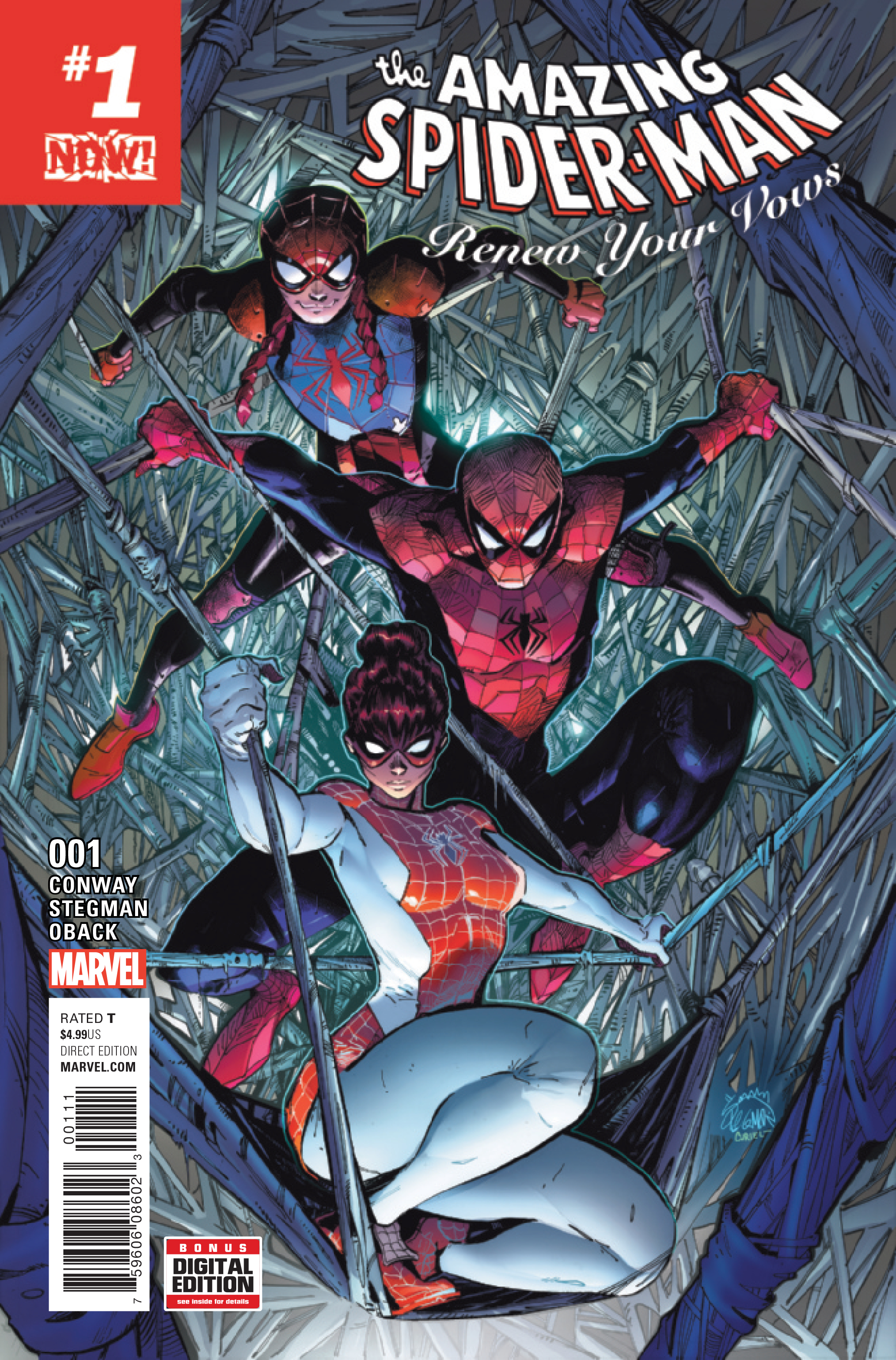 AMAZING SPIDER-MAN RENEW YOUR VOWS #1 NOW