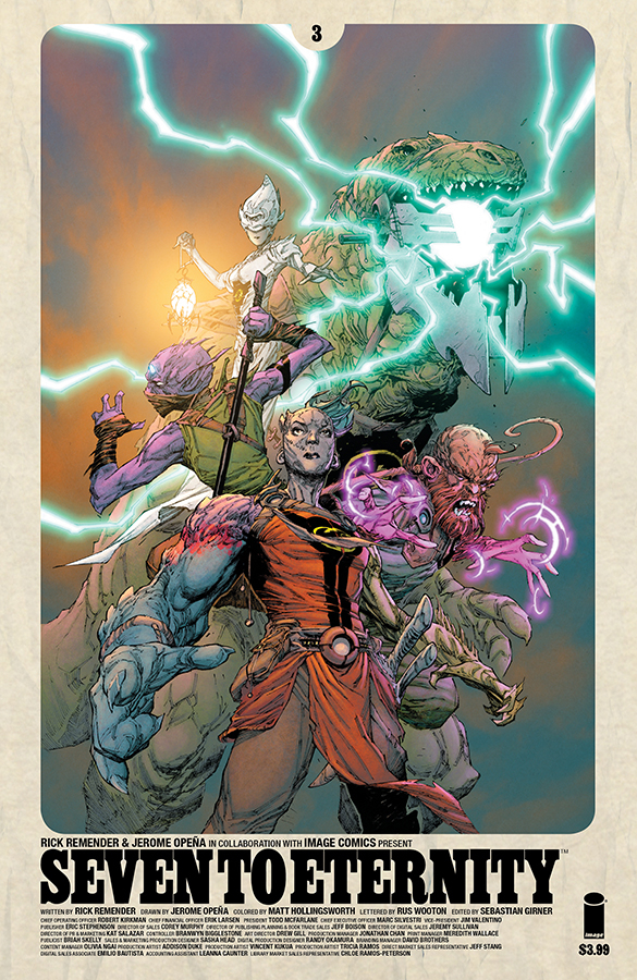 SEVEN TO ETERNITY #3 CVR A OPENA & HOLLINGSWORTH