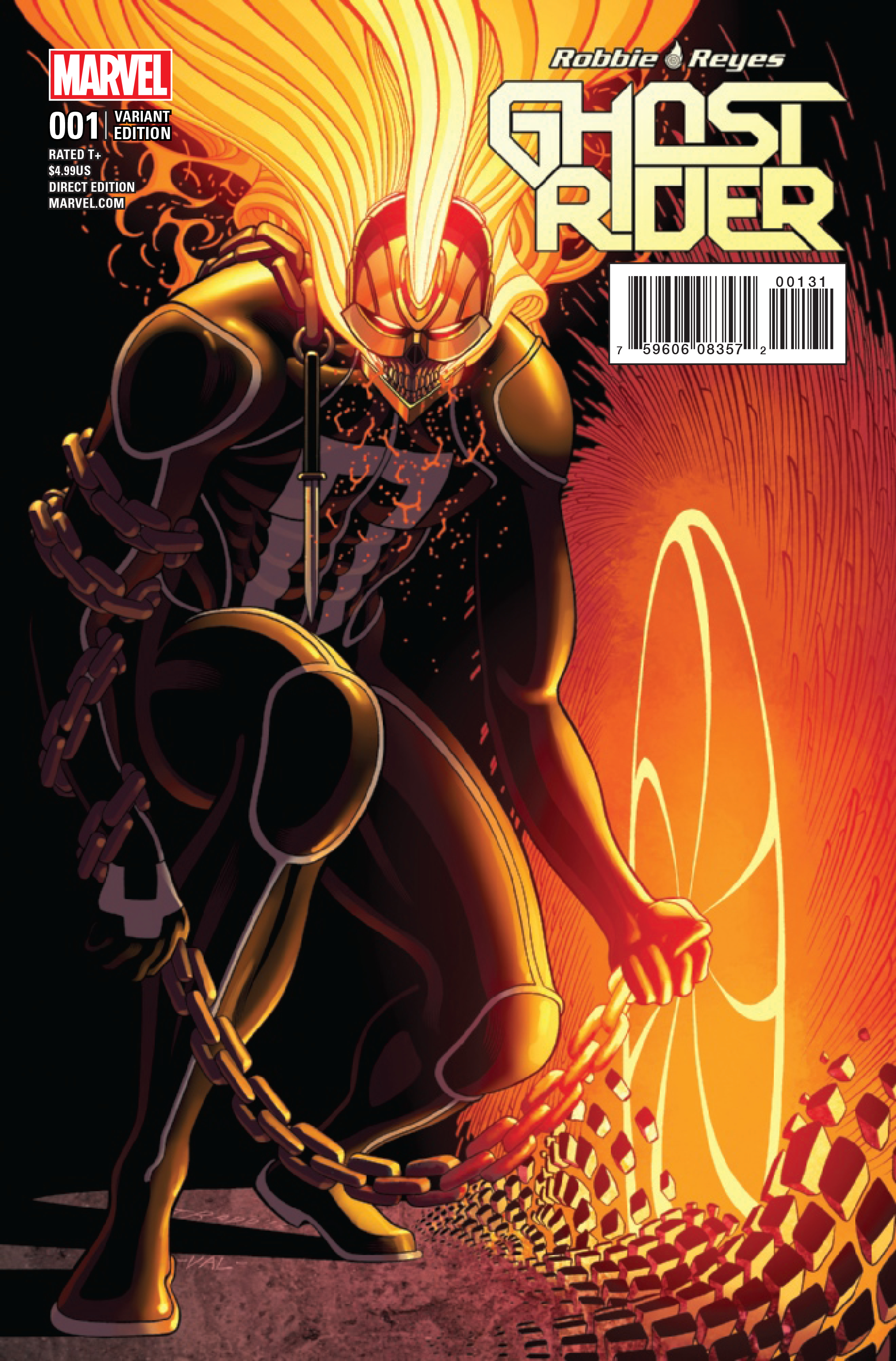 GHOST RIDER #1 MOORE VAR NOW