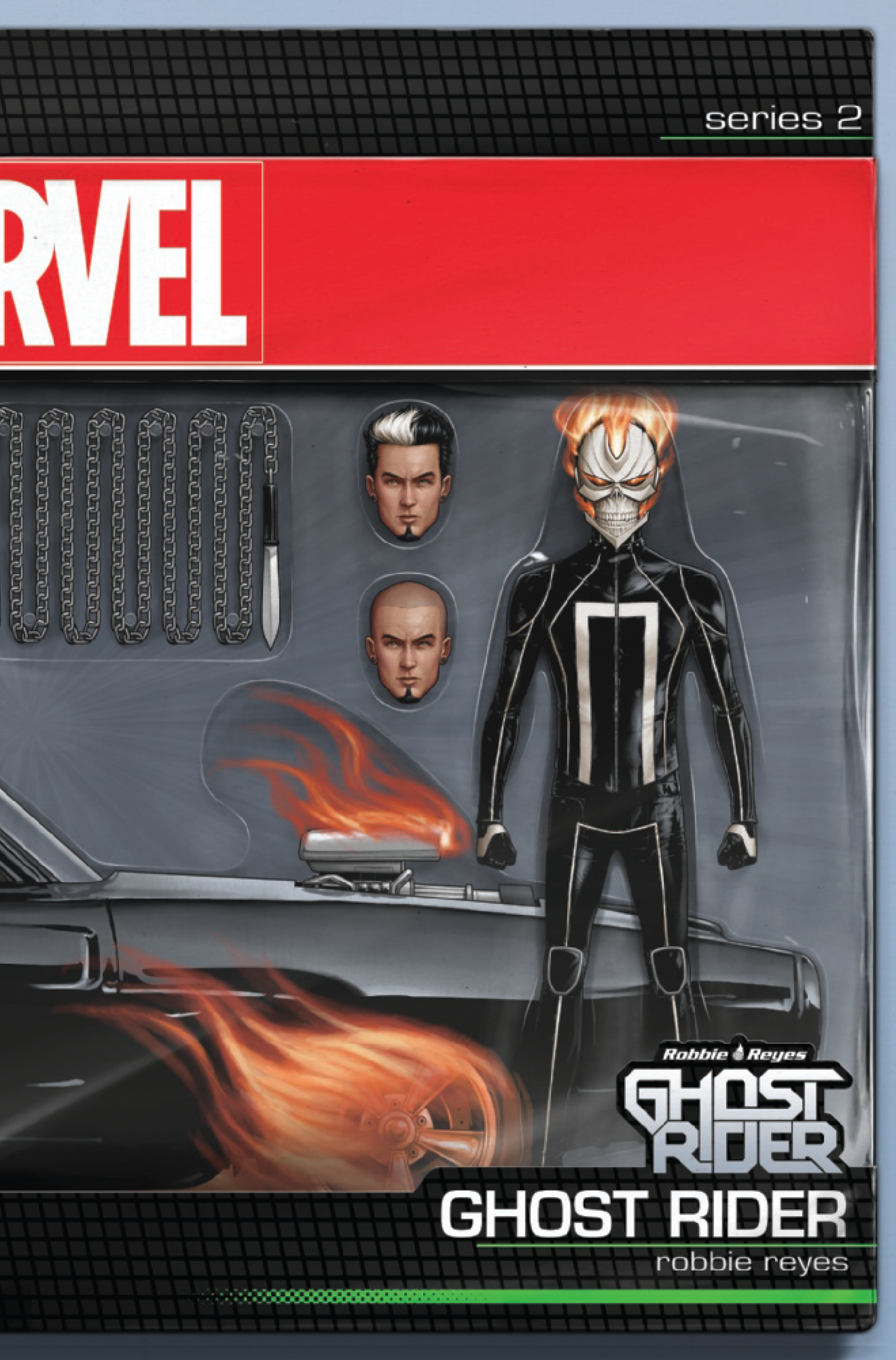 GHOST RIDER #1 CHRISTOPHER ACTION FIGURE VAR NOW