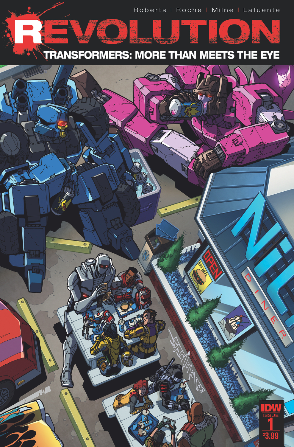TRANSFORMERS MORE THAN MEETS THE EYE REVOLUTION #1