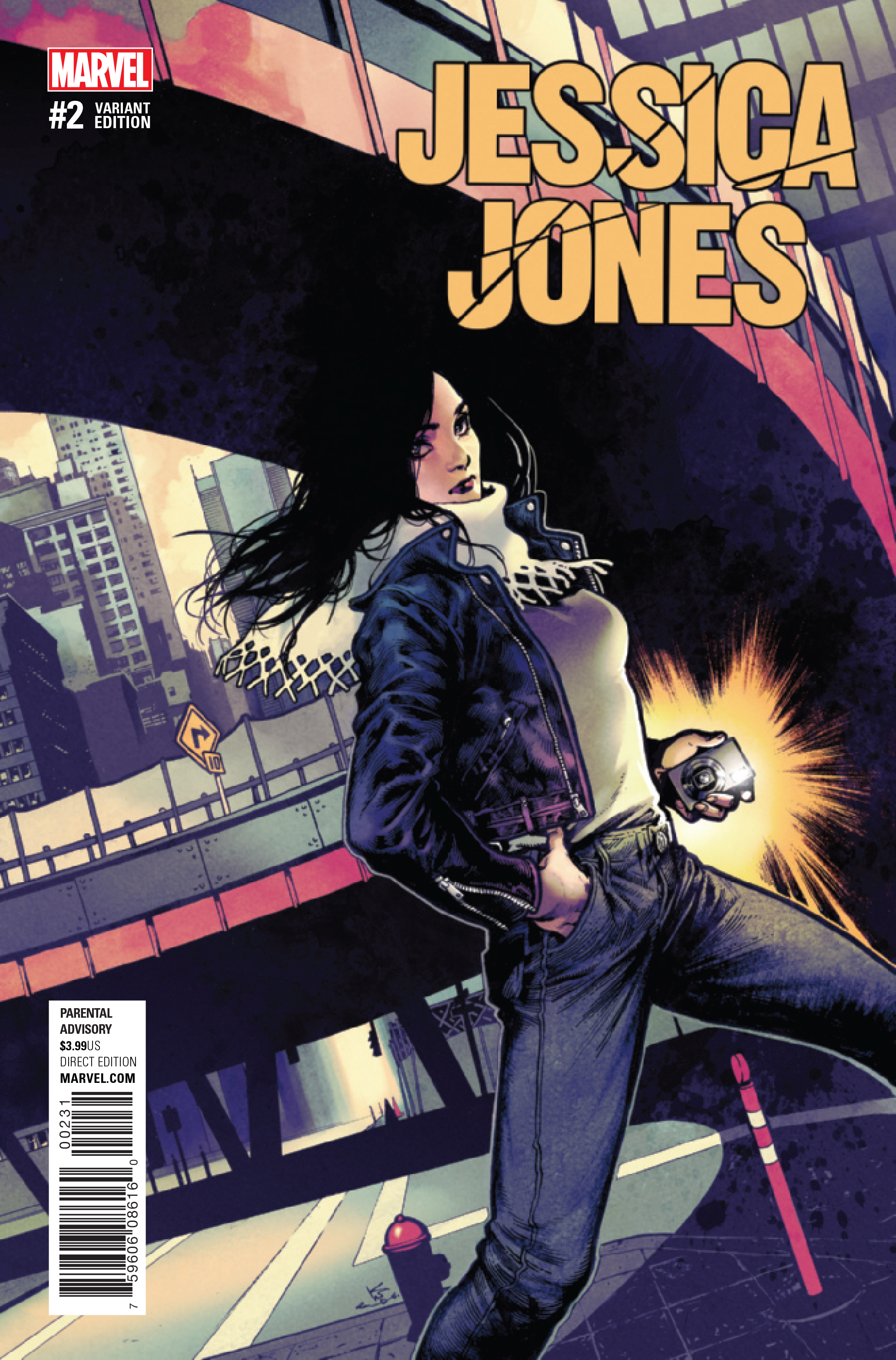 JESSICA JONES #2 SHIRAHAMA VAR