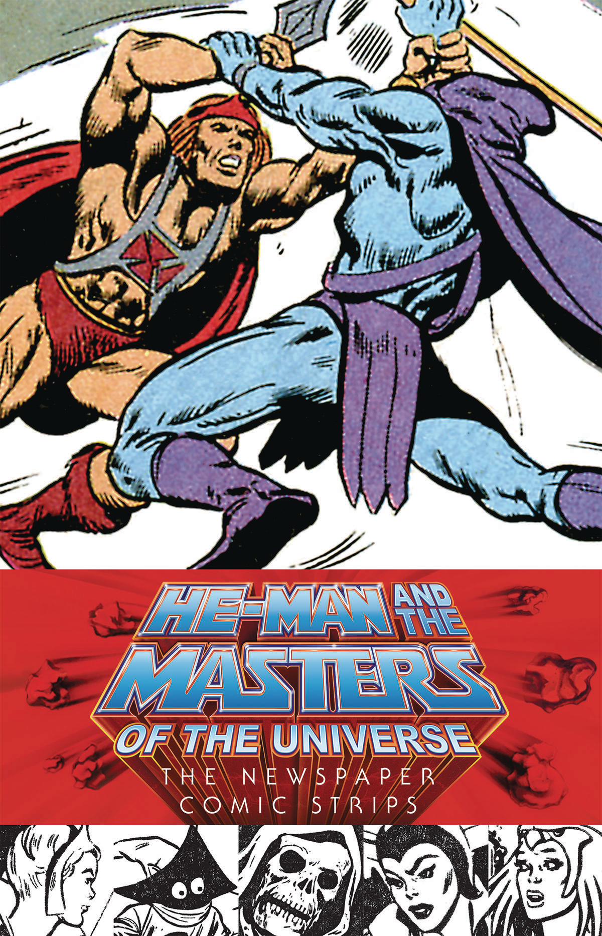 HE-MAN & MASTERS OF UNIVERSE NEWSPAPER STRIPS HC