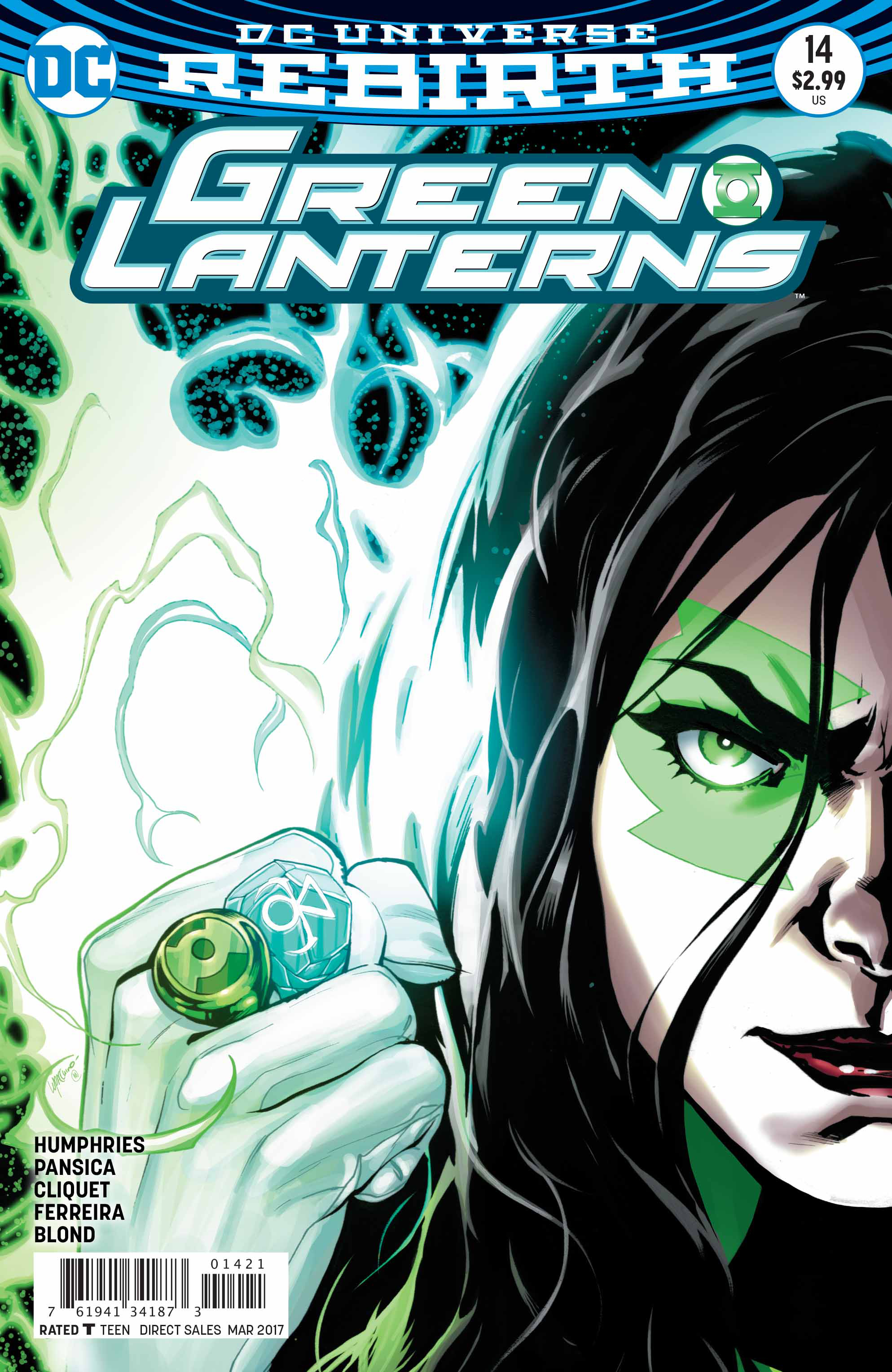 GREEN LANTERNS #14 VAR ED