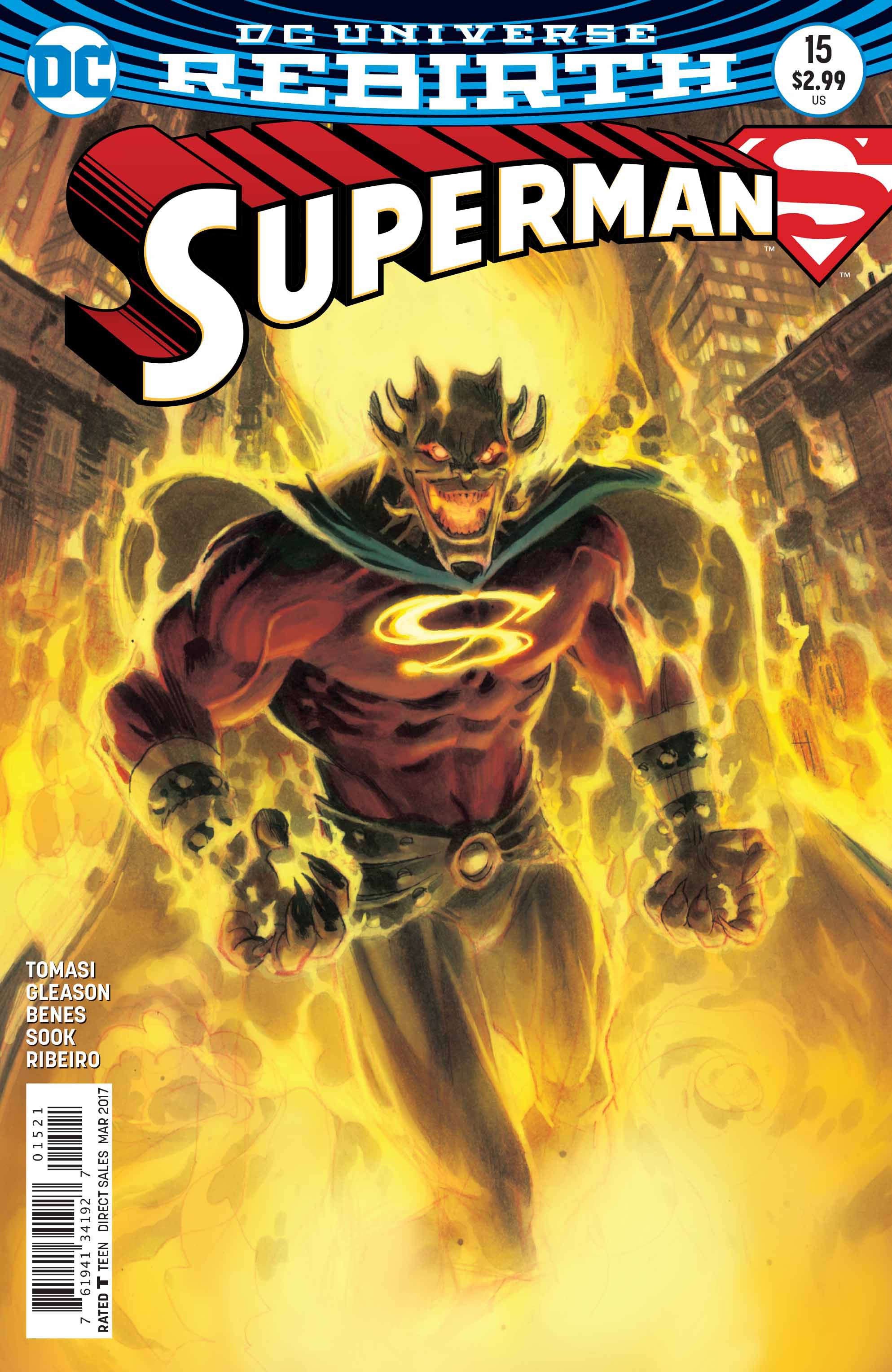 SUPERMAN #15 VAR ED