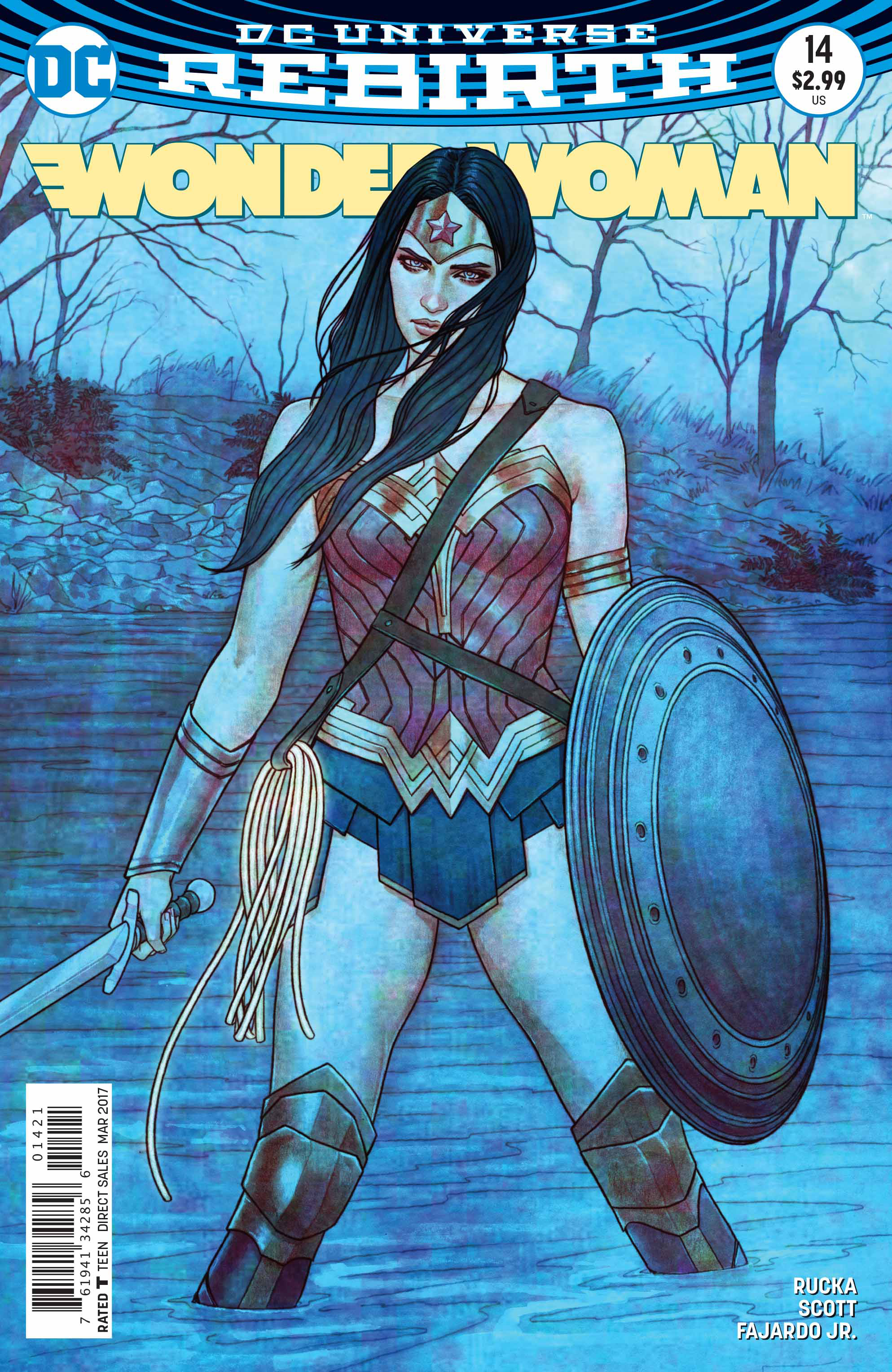 WONDER WOMAN #14 VAR ED