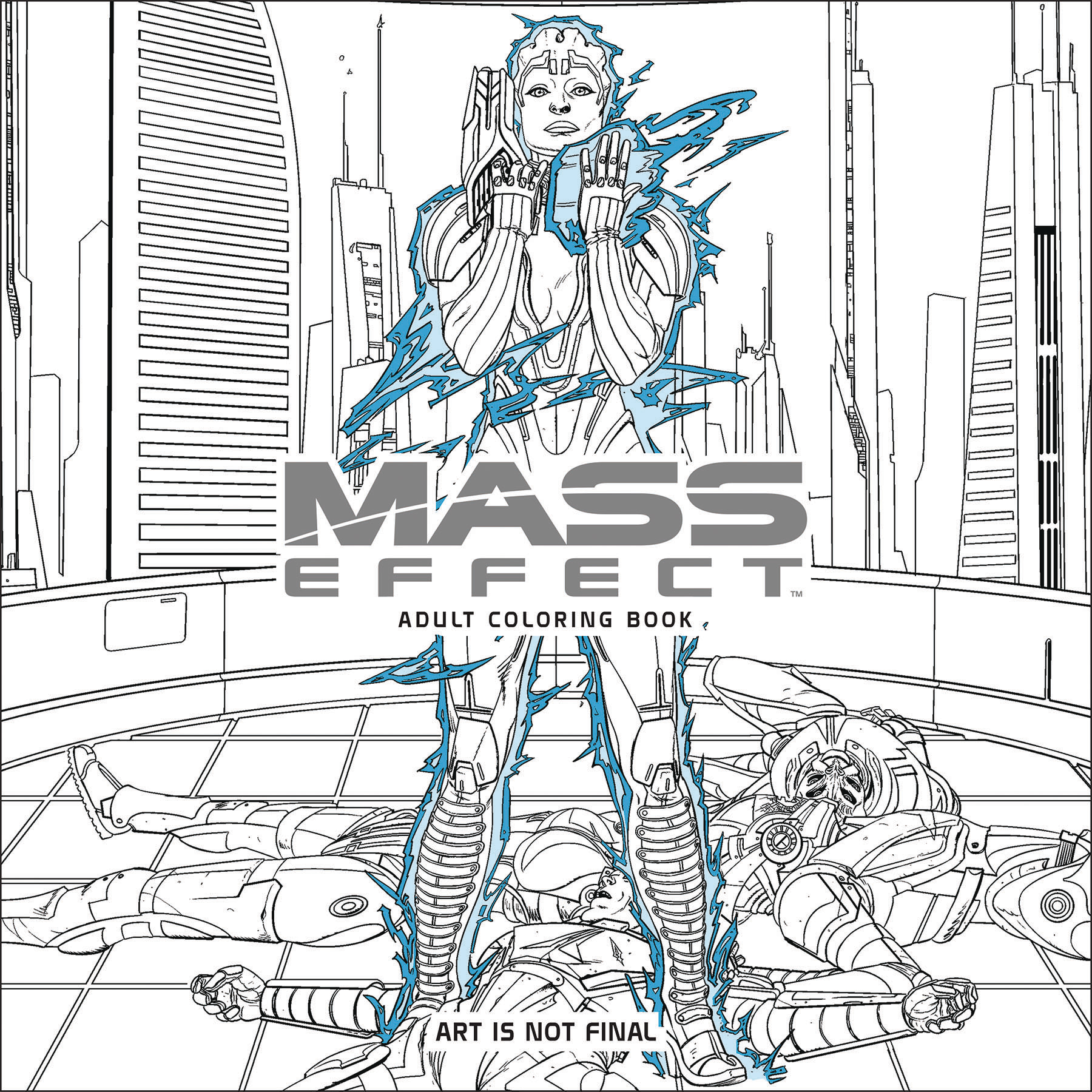 MASS EFFECT ADULT COLORING BOOK TP (NOV160083)