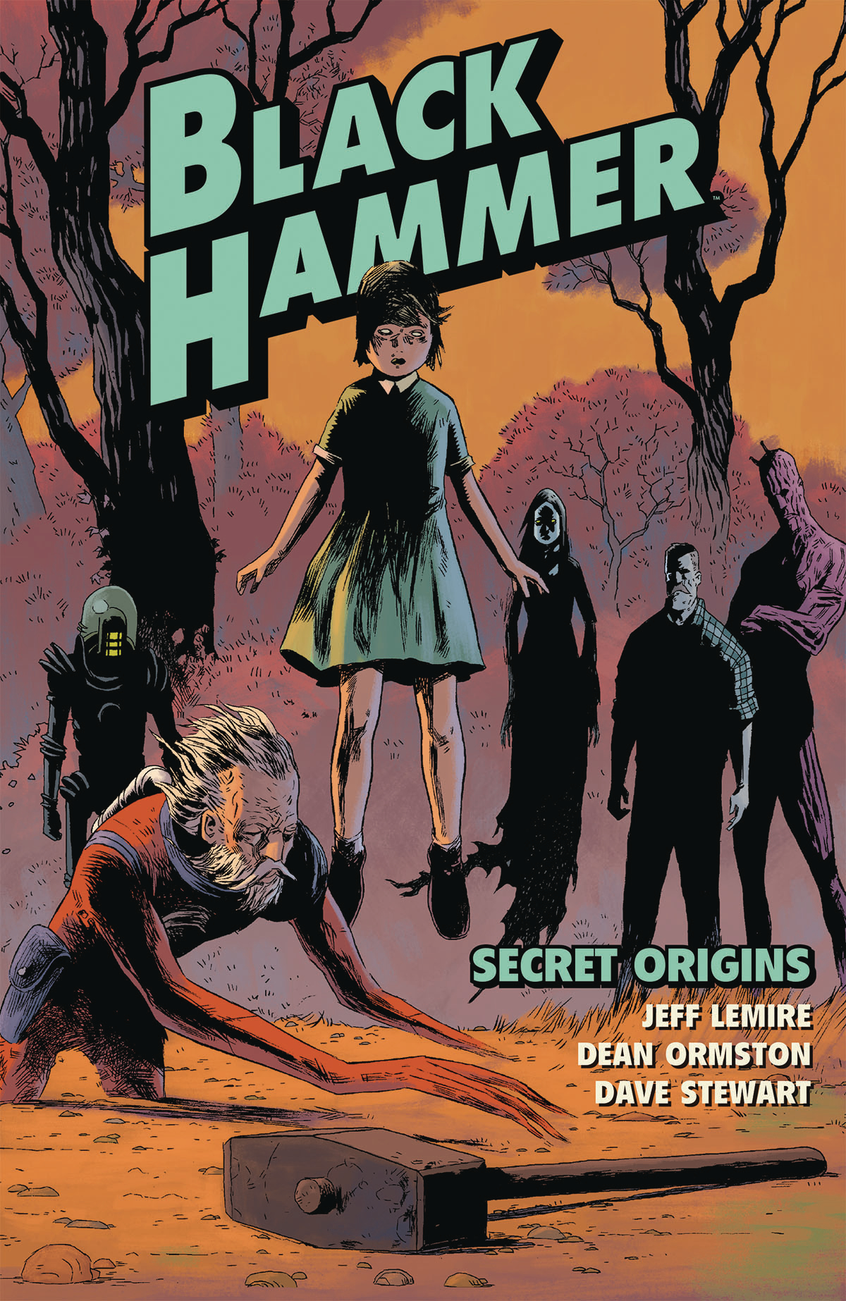 BLACK HAMMER TP VOL 01 SECRET ORIGINS (NOV160051)