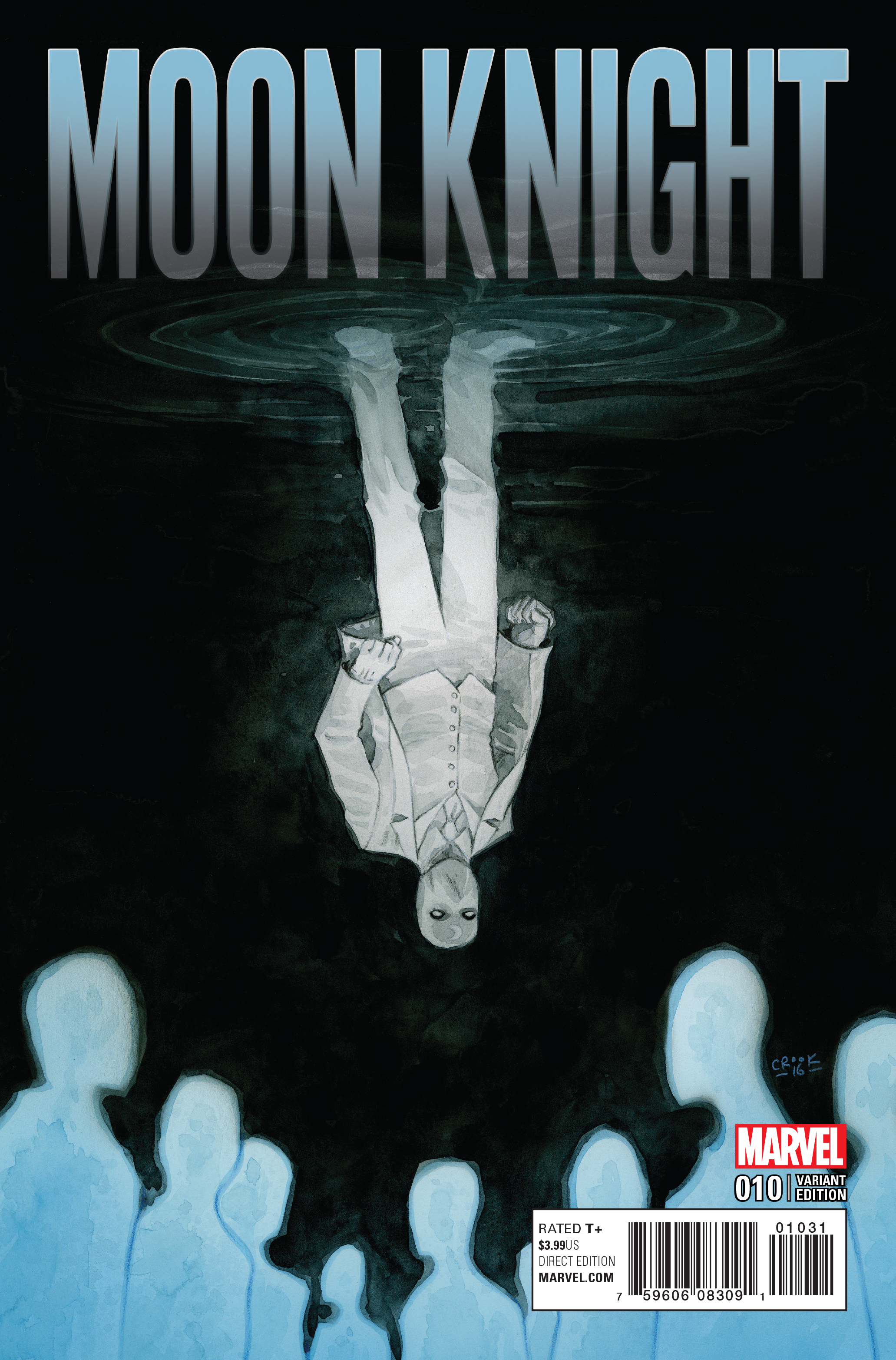 MOON KNIGHT #10 CROOK VAR NOW