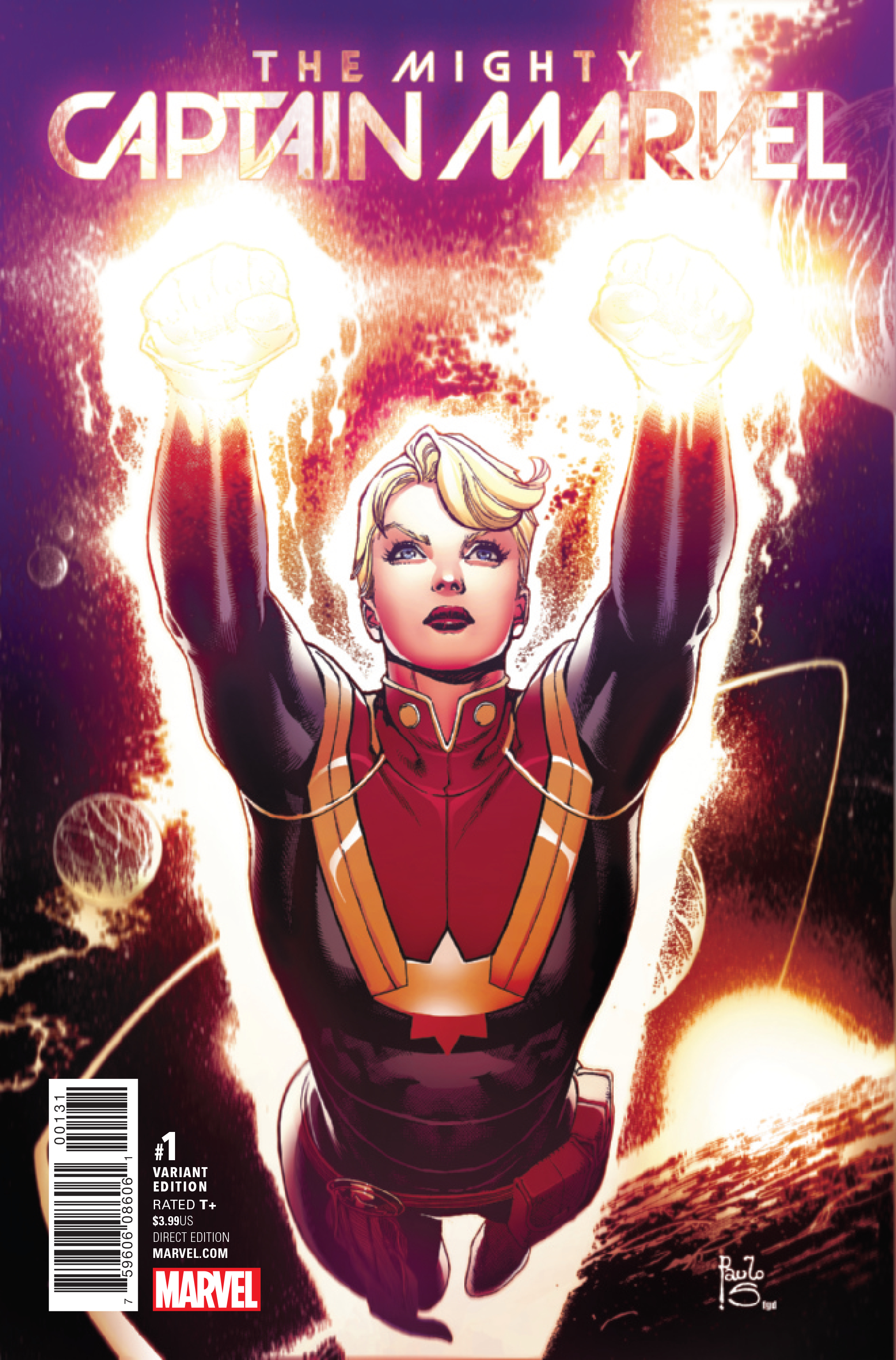 MIGHTY CAPTAIN MARVEL #1 SIQUEIRA VAR NOW