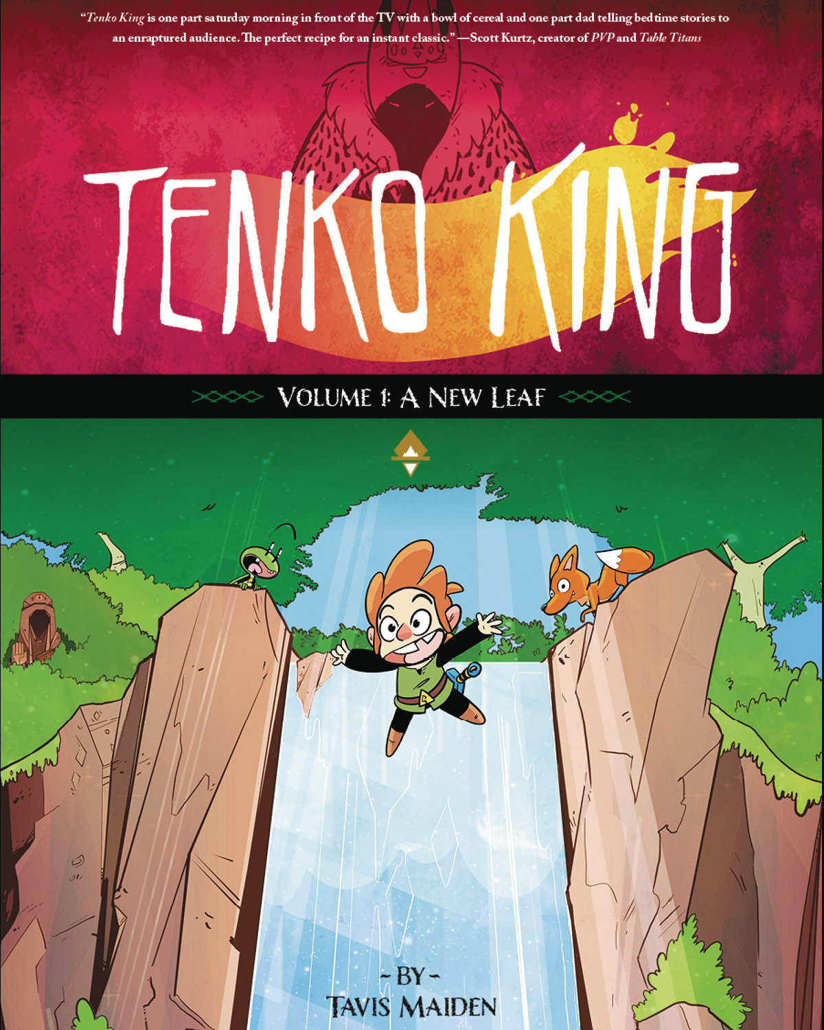 TENKO KING GN VOL 01 NEW LEAF