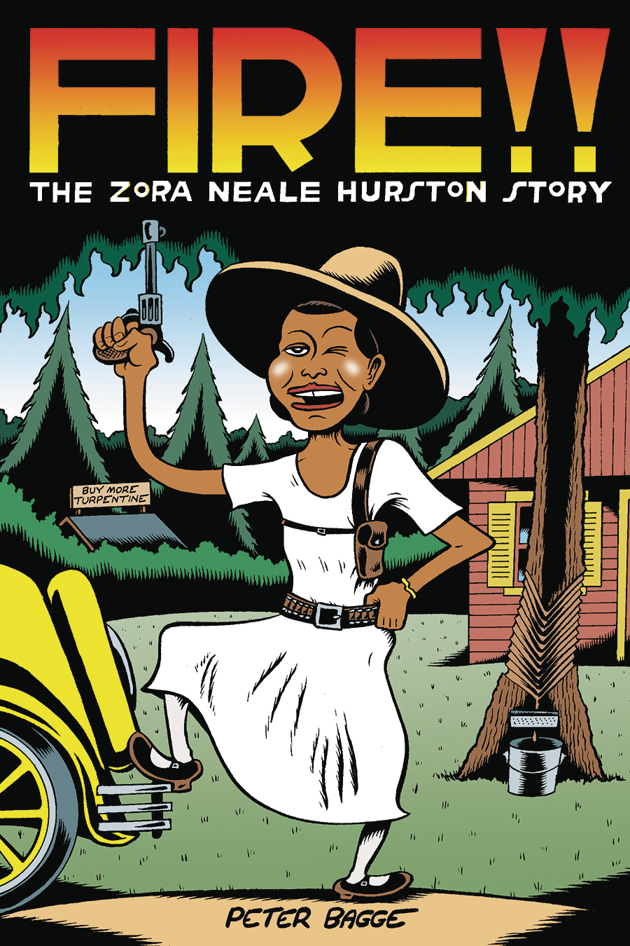 FIRE THE ZORA NEALE HURSTON STORY HC (DEC161625)
