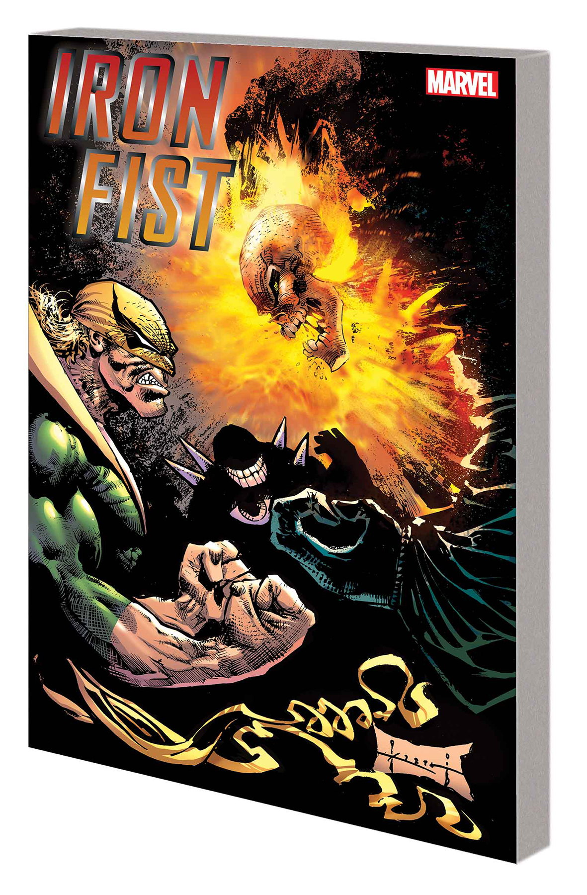 IRON FIST TP BOOK OF CHANGES