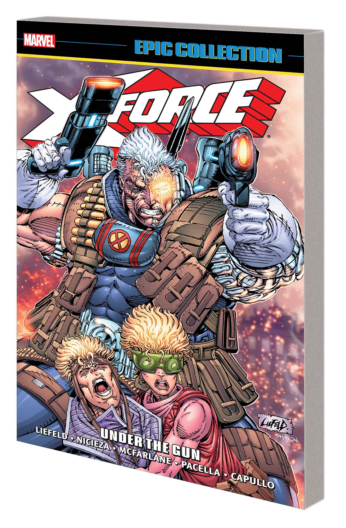 X-FORCE EPIC COLLECTION TP UNDER GUN