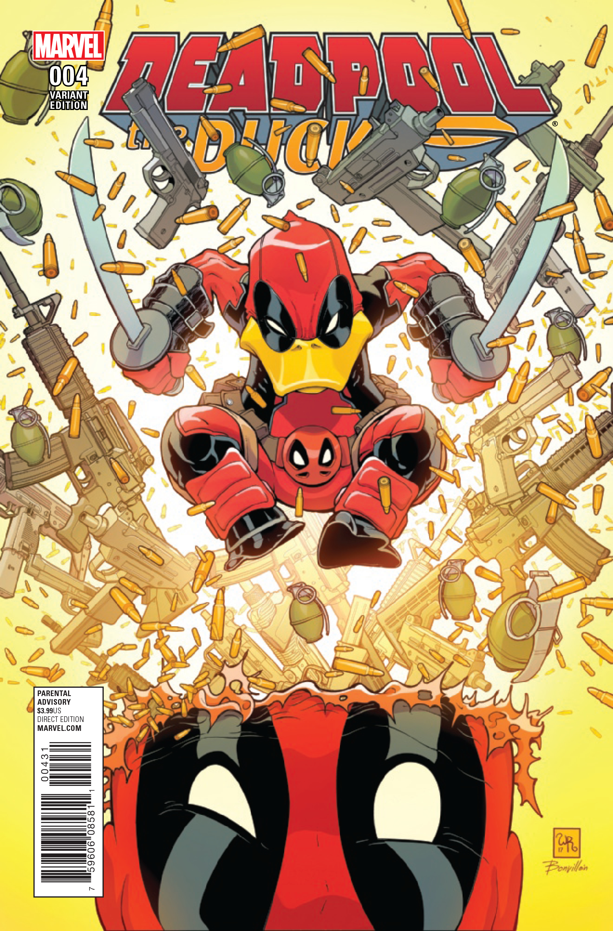DEADPOOL THE DUCK #4 (OF 5) ROBSON VAR