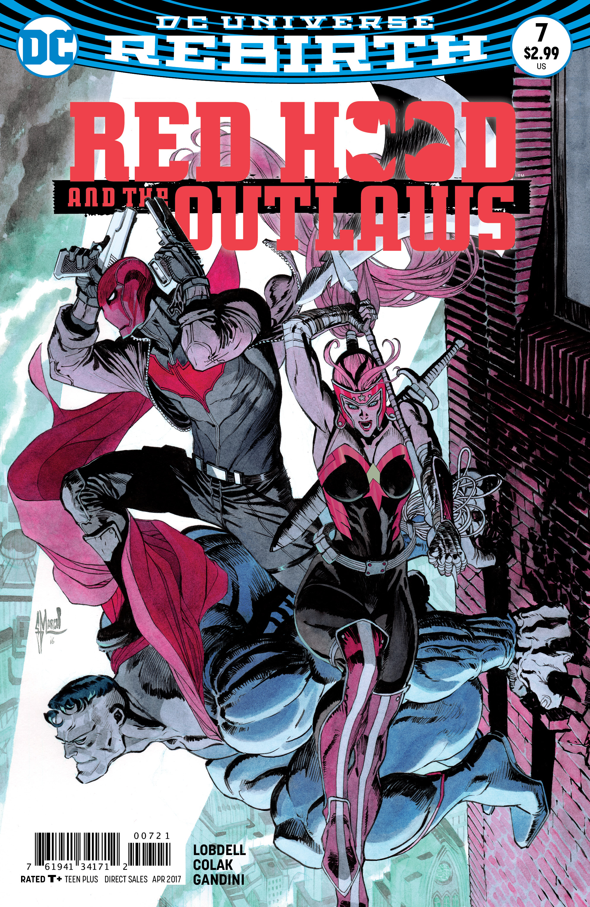 RED HOOD AND THE OUTLAWS #7 VAR ED