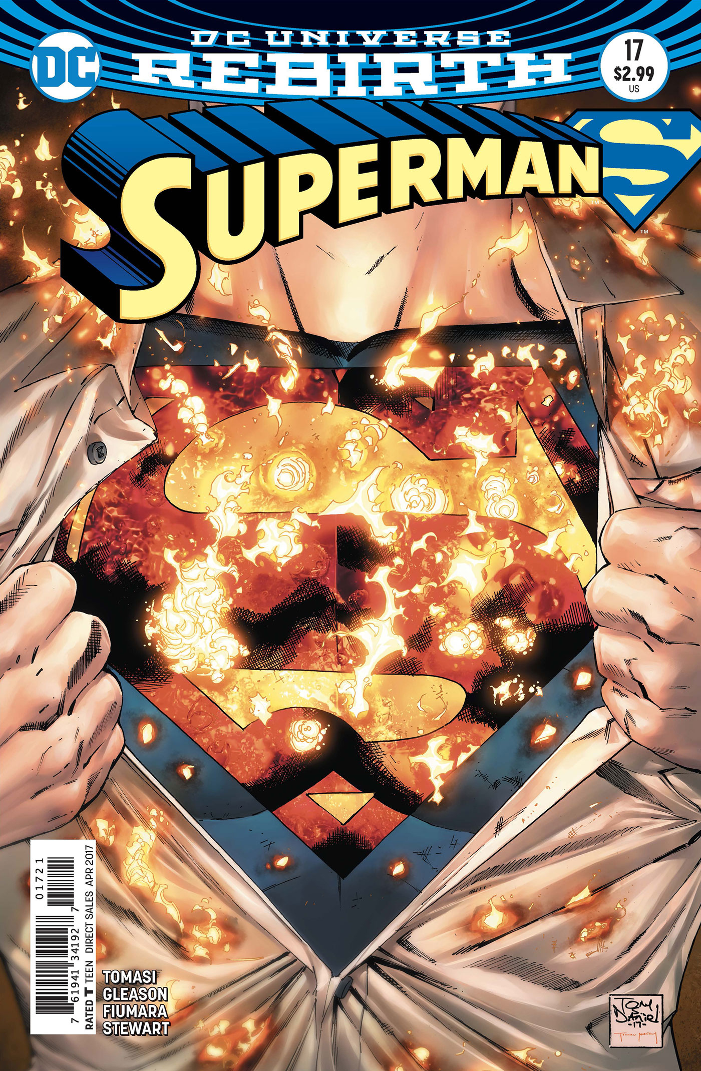 SUPERMAN #17 VAR ED