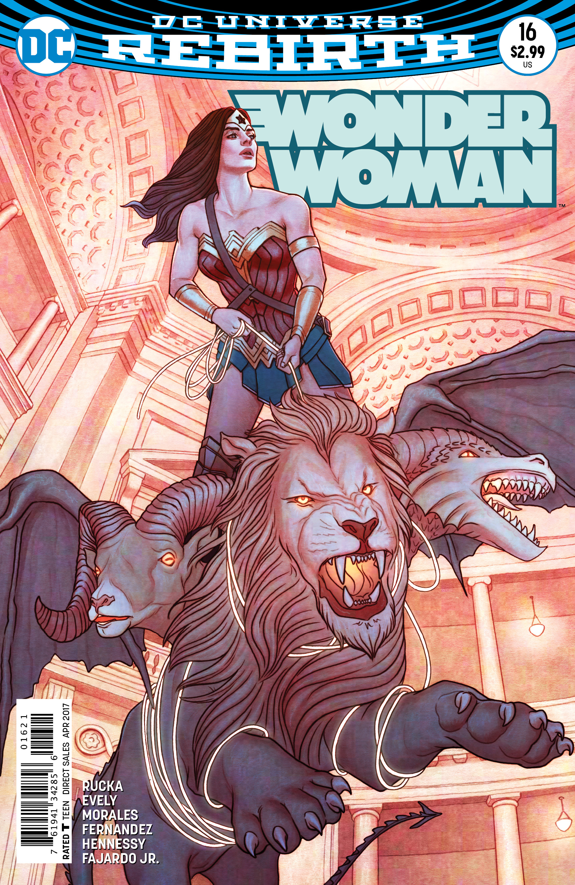 WONDER WOMAN #16 VAR ED