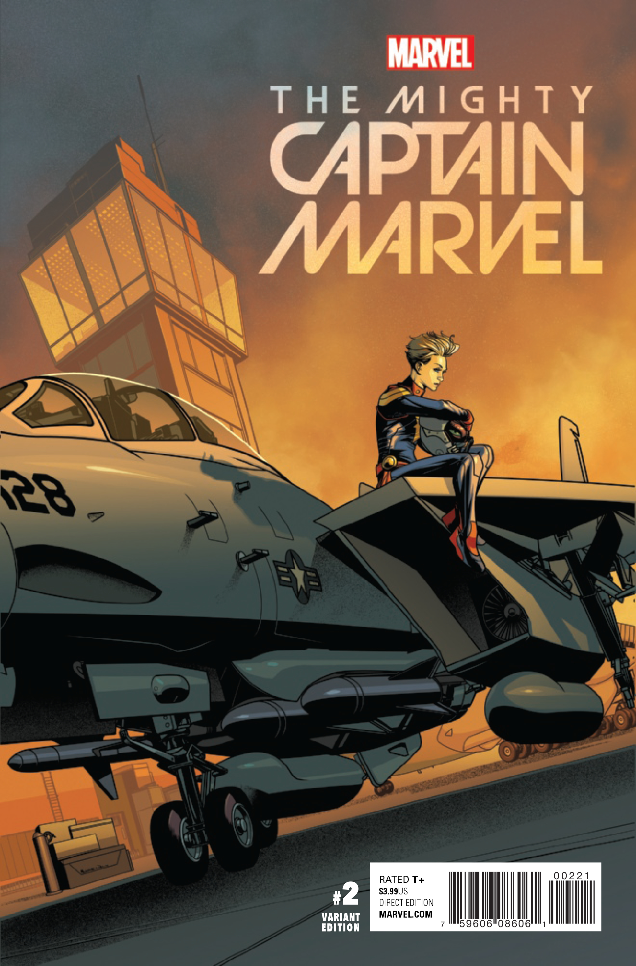 MIGHTY CAPTAIN MARVEL #2 MCKONE VAR