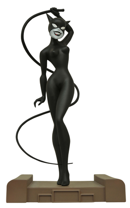 DC GALLERY BATMAN TAS NEW ADV CATWOMAN PVC FIG