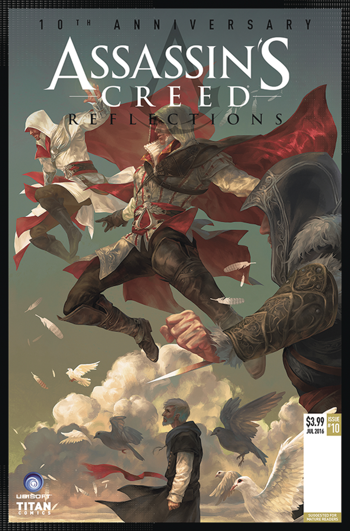 ASSASSINS CREED REFLECTIONS #1 (OF 4) CVR A SUNSETAGAIN