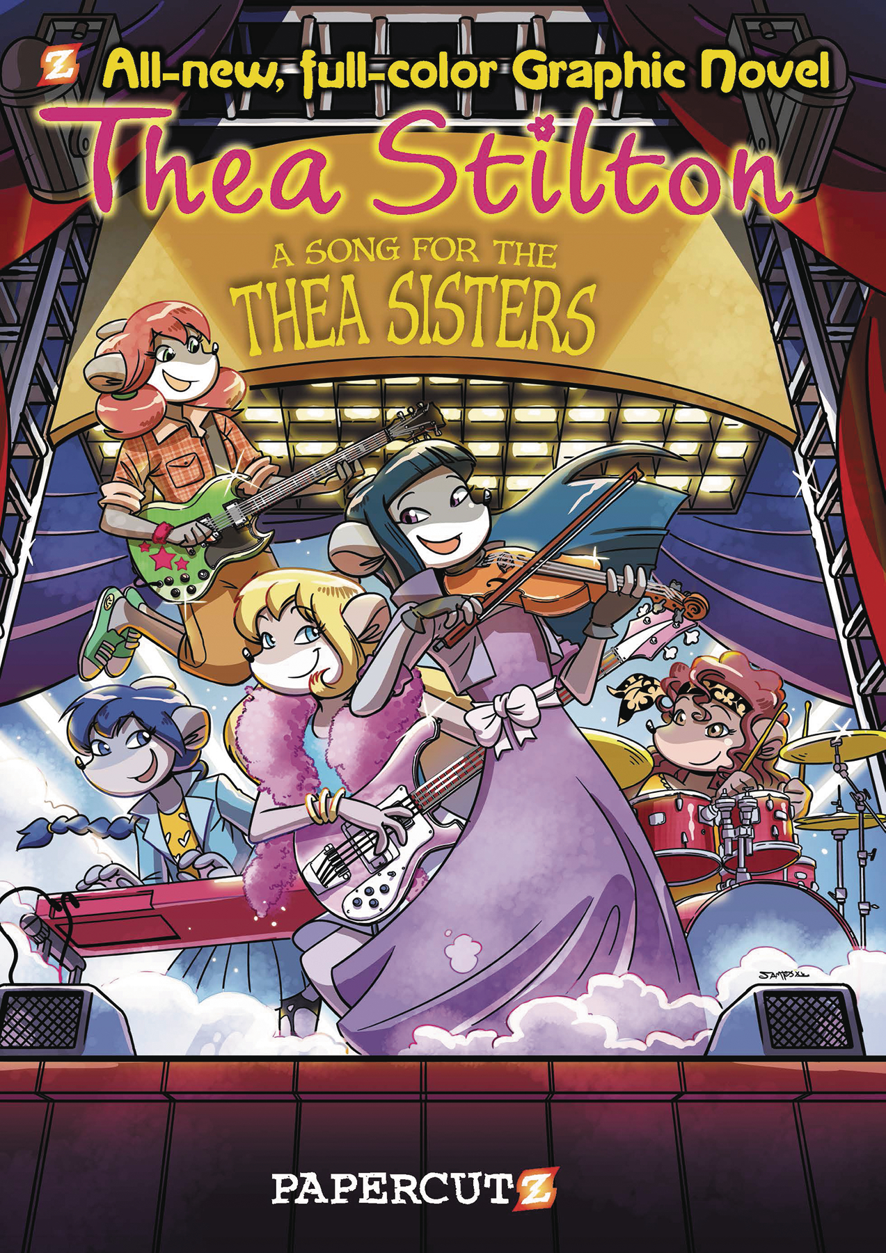 THEA STILTON HC VOL 07 SONG FOR THEA SISTERS