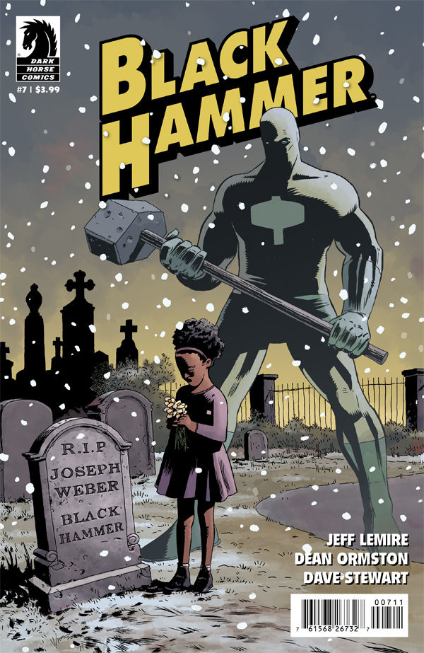 BLACK HAMMER #7 MAIN ORMSTON