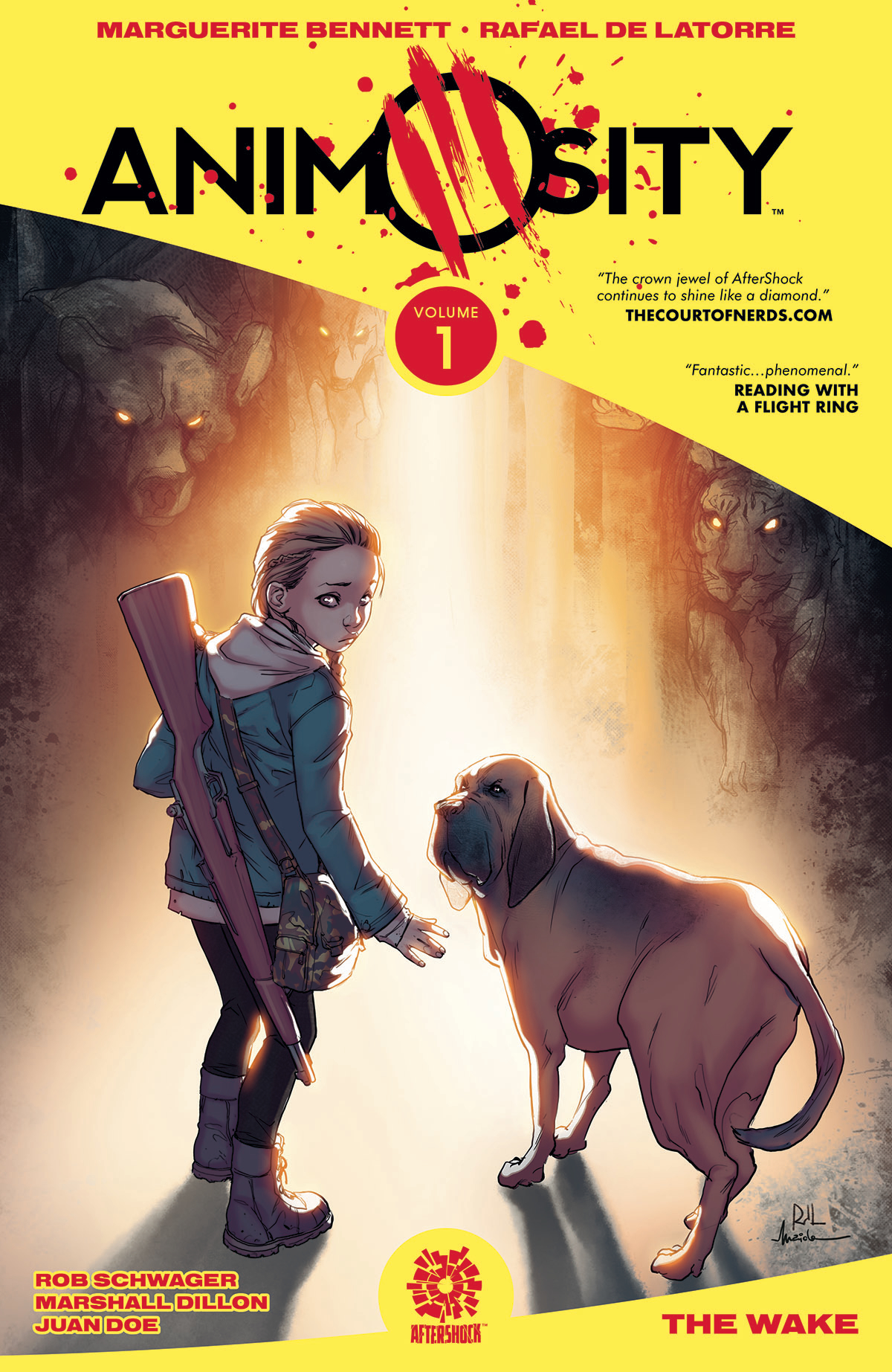 ANIMOSITY TP VOL 01 (JAN171219) (MR)