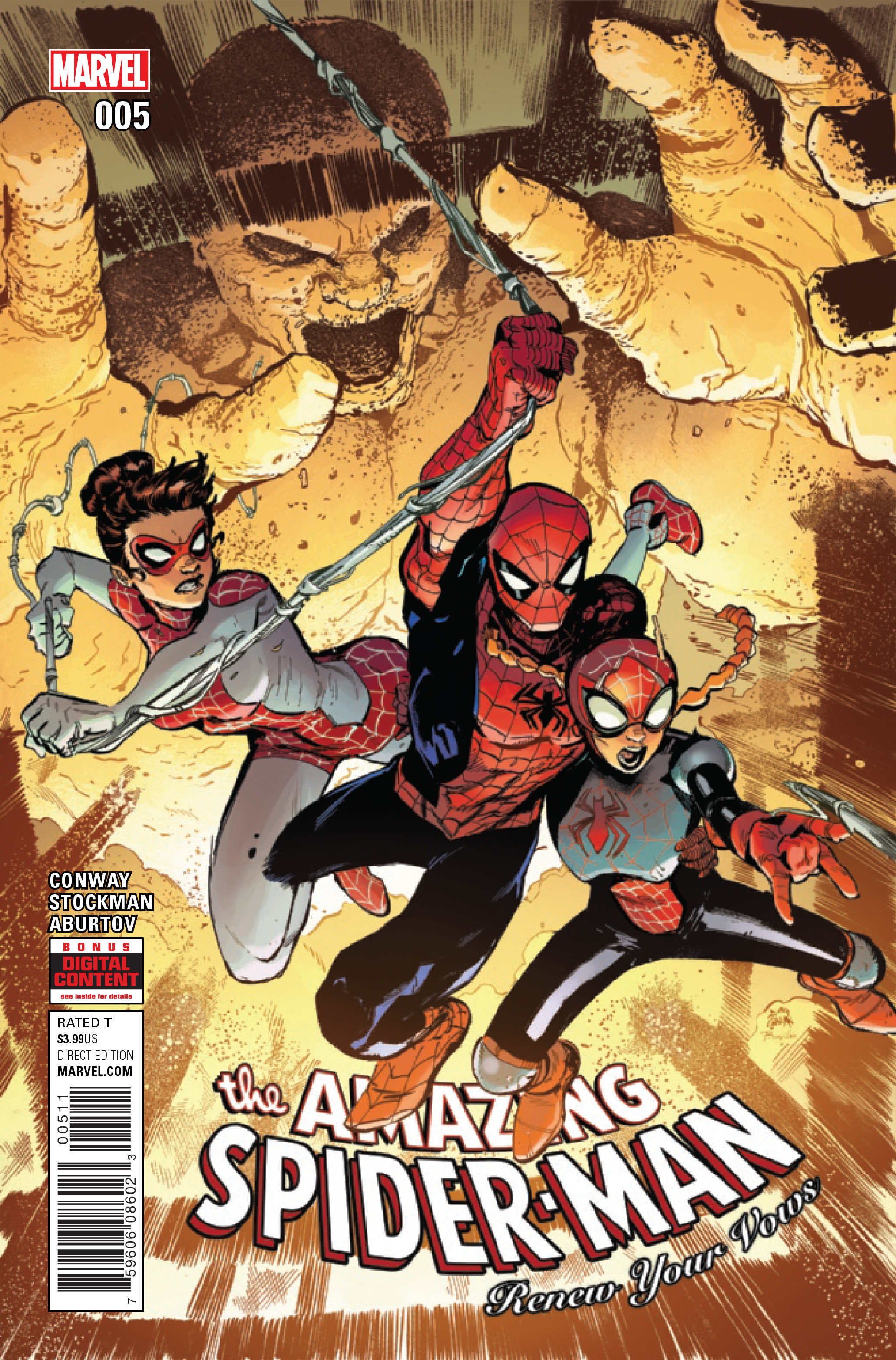 AMAZING SPIDER-MAN RENEW YOUR VOWS #5