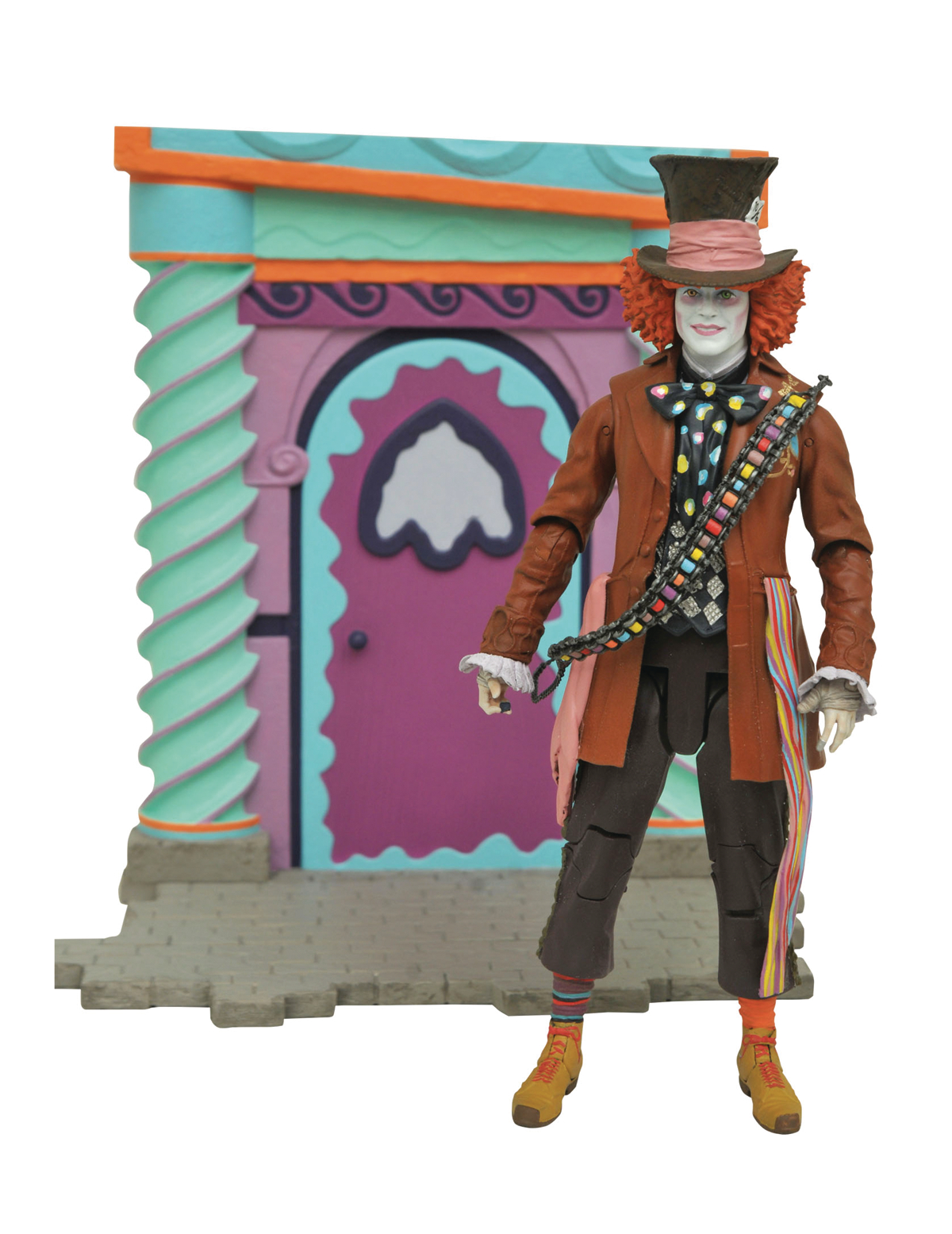 ALICE TTLG SELECT RED HATTER PX FIG