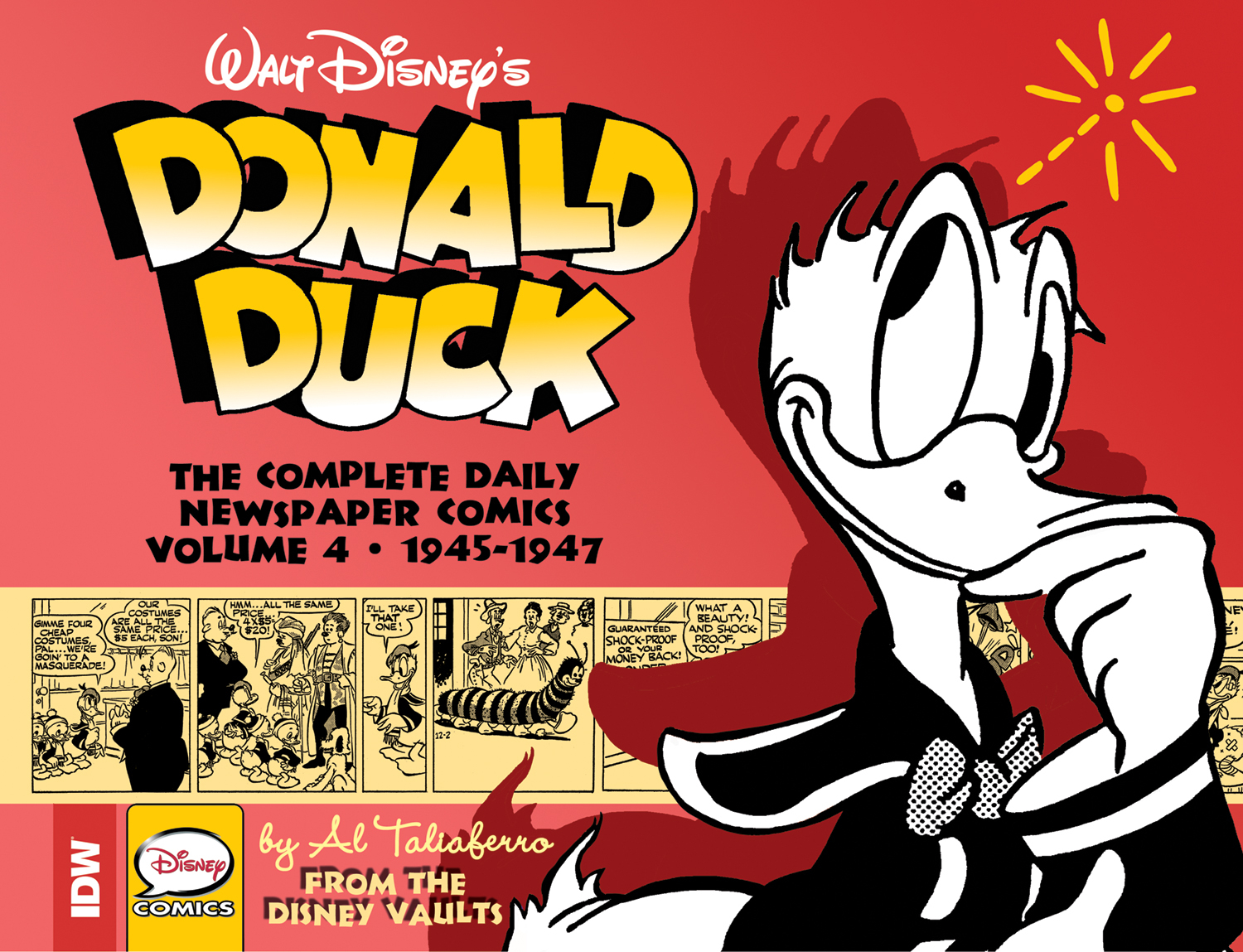 WALT DISNEY DONALD DUCK NEWSPAPER COMICS HC VOL 04