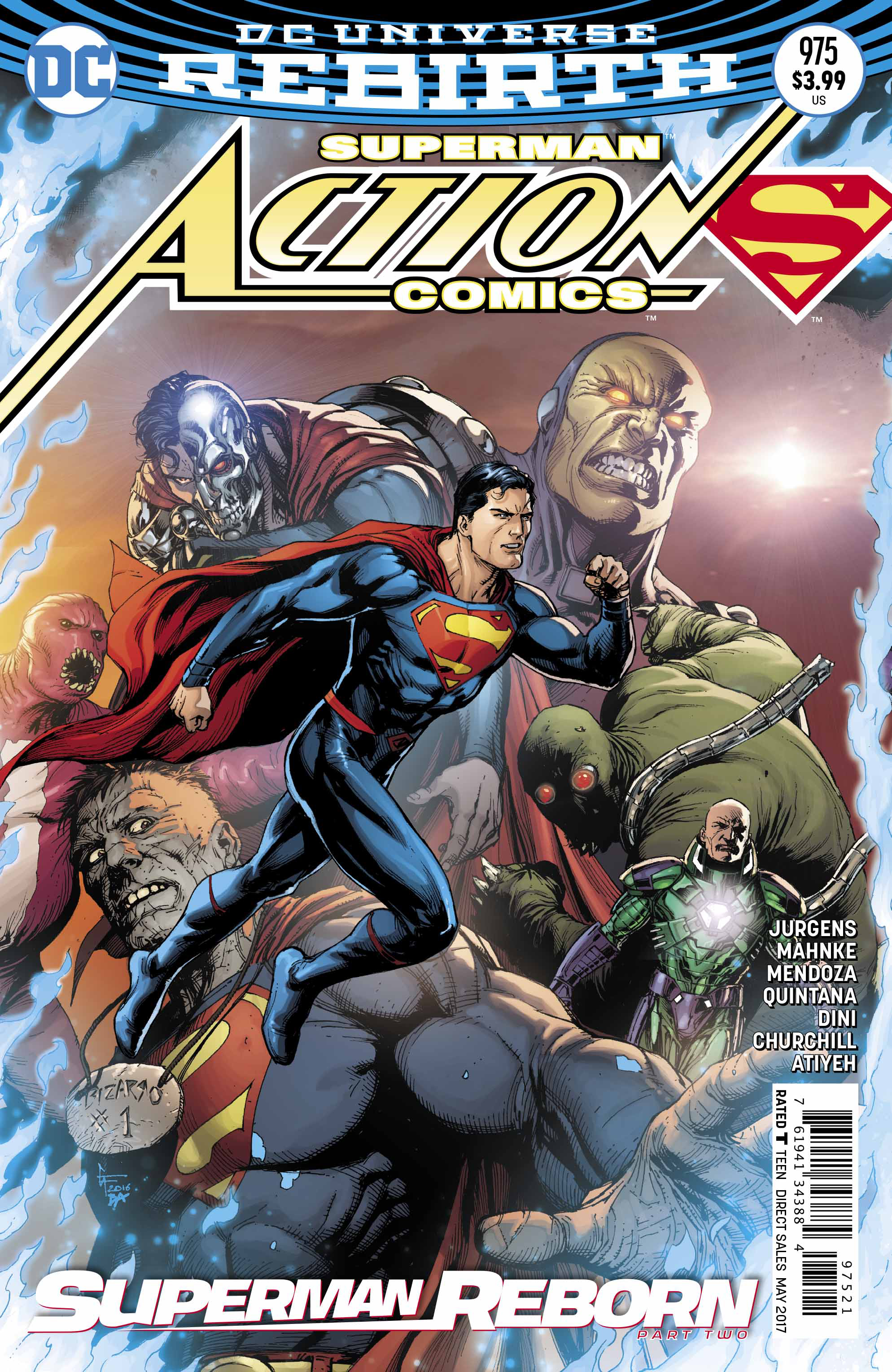 ACTION COMICS #975 VAR ED