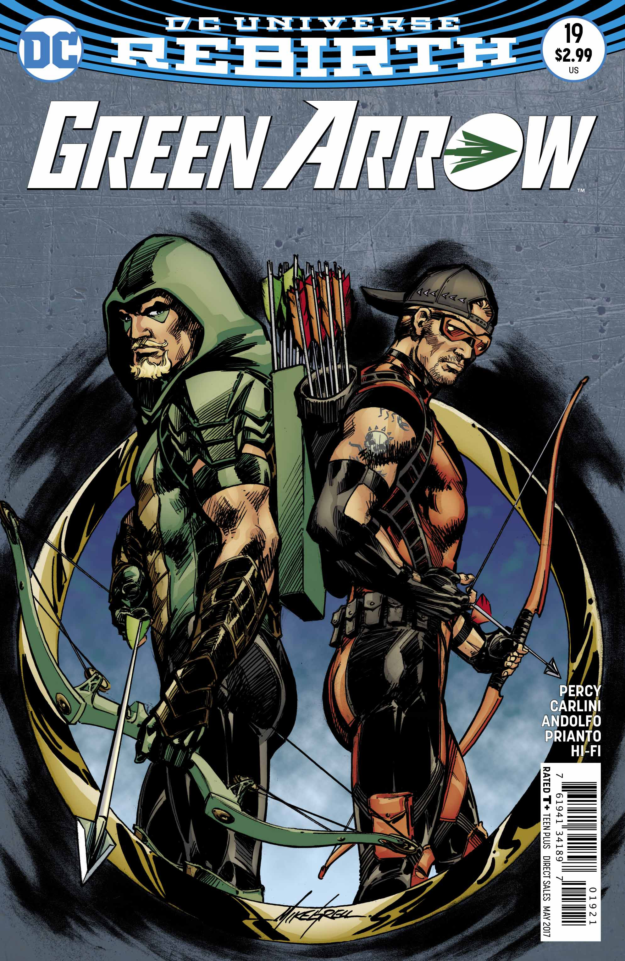 GREEN ARROW #19 VAR ED
