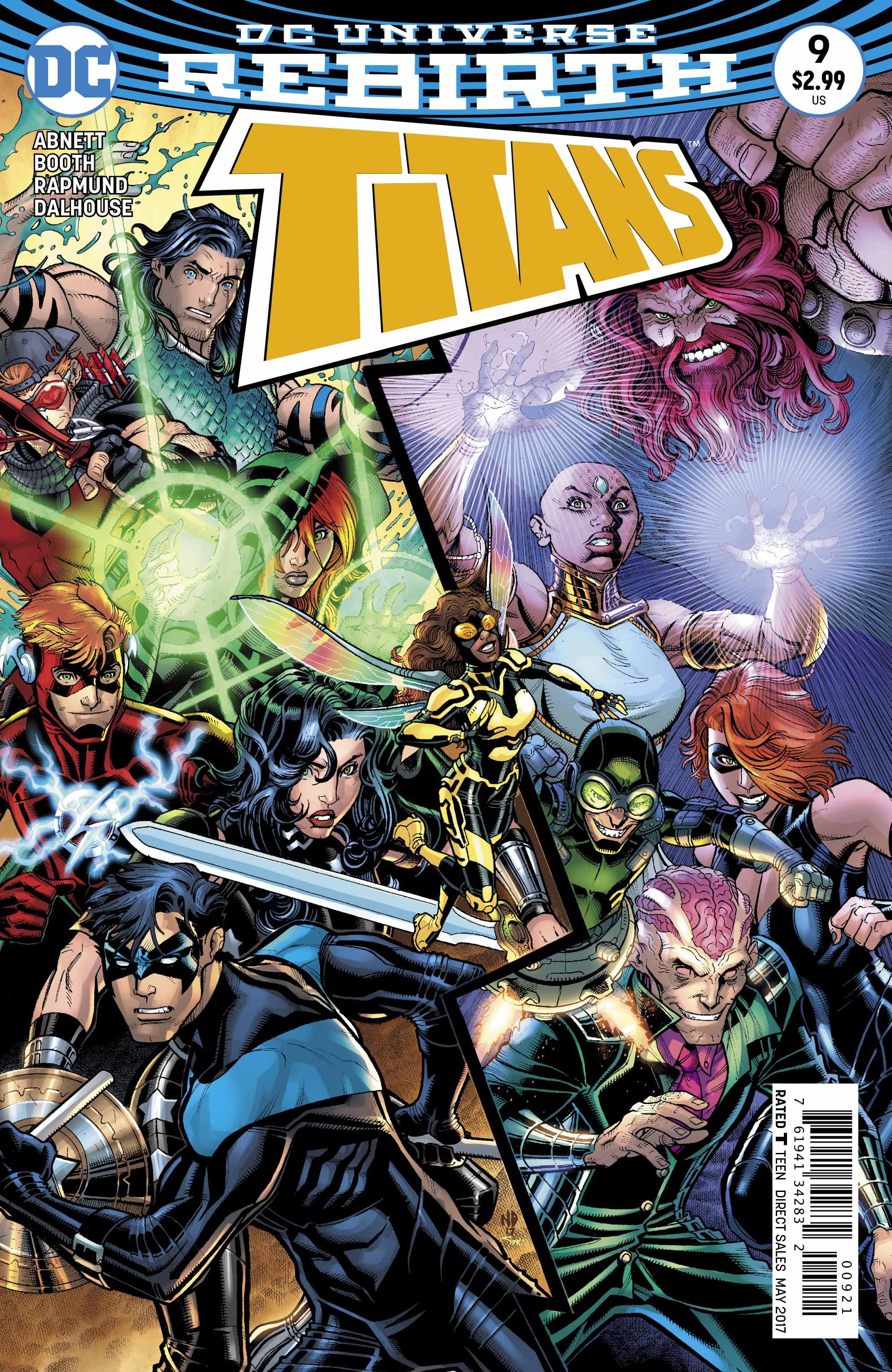 Titans #9 Var Ed