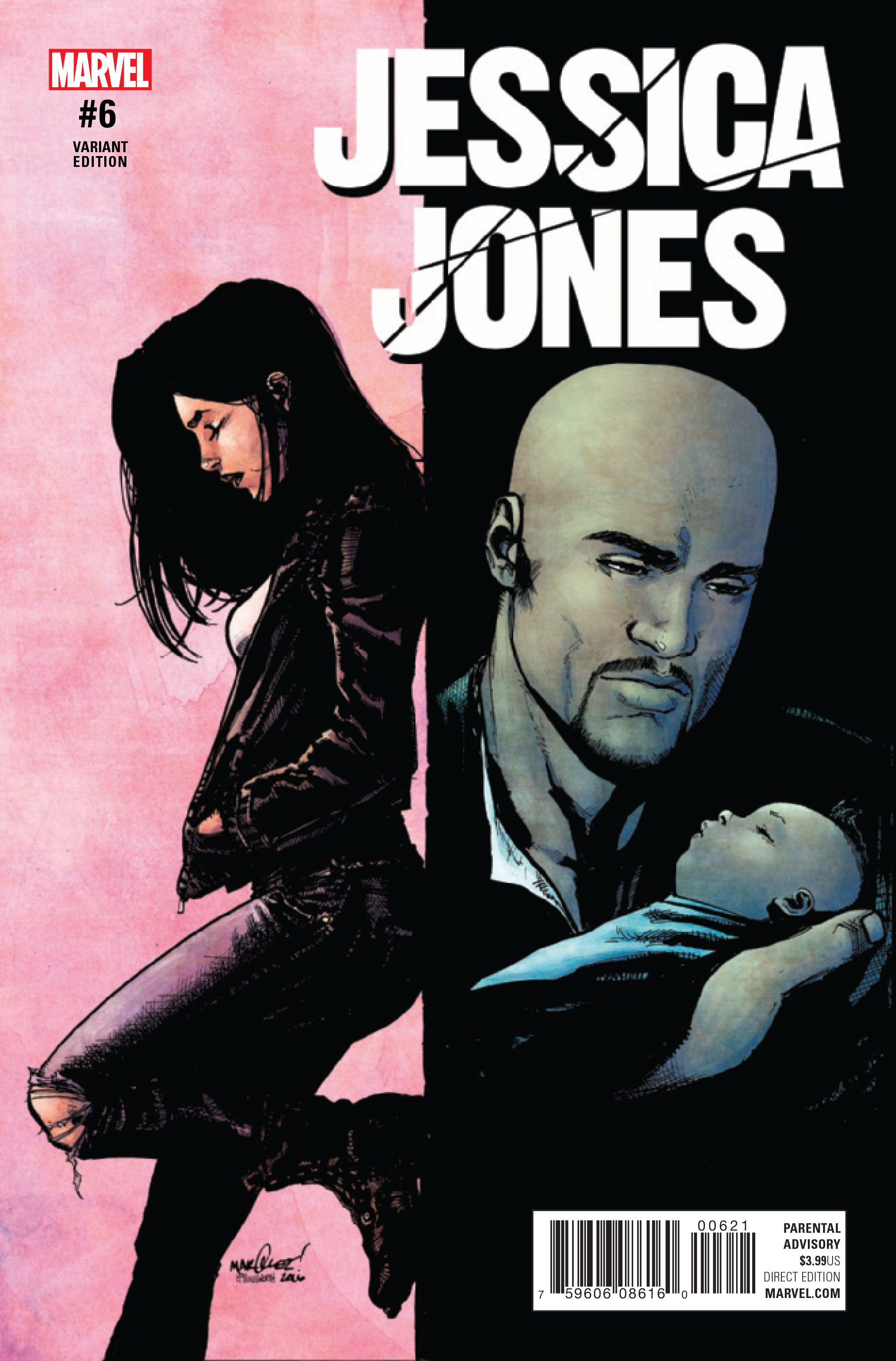 JESSICA JONES #6 MARQUEZ VAR