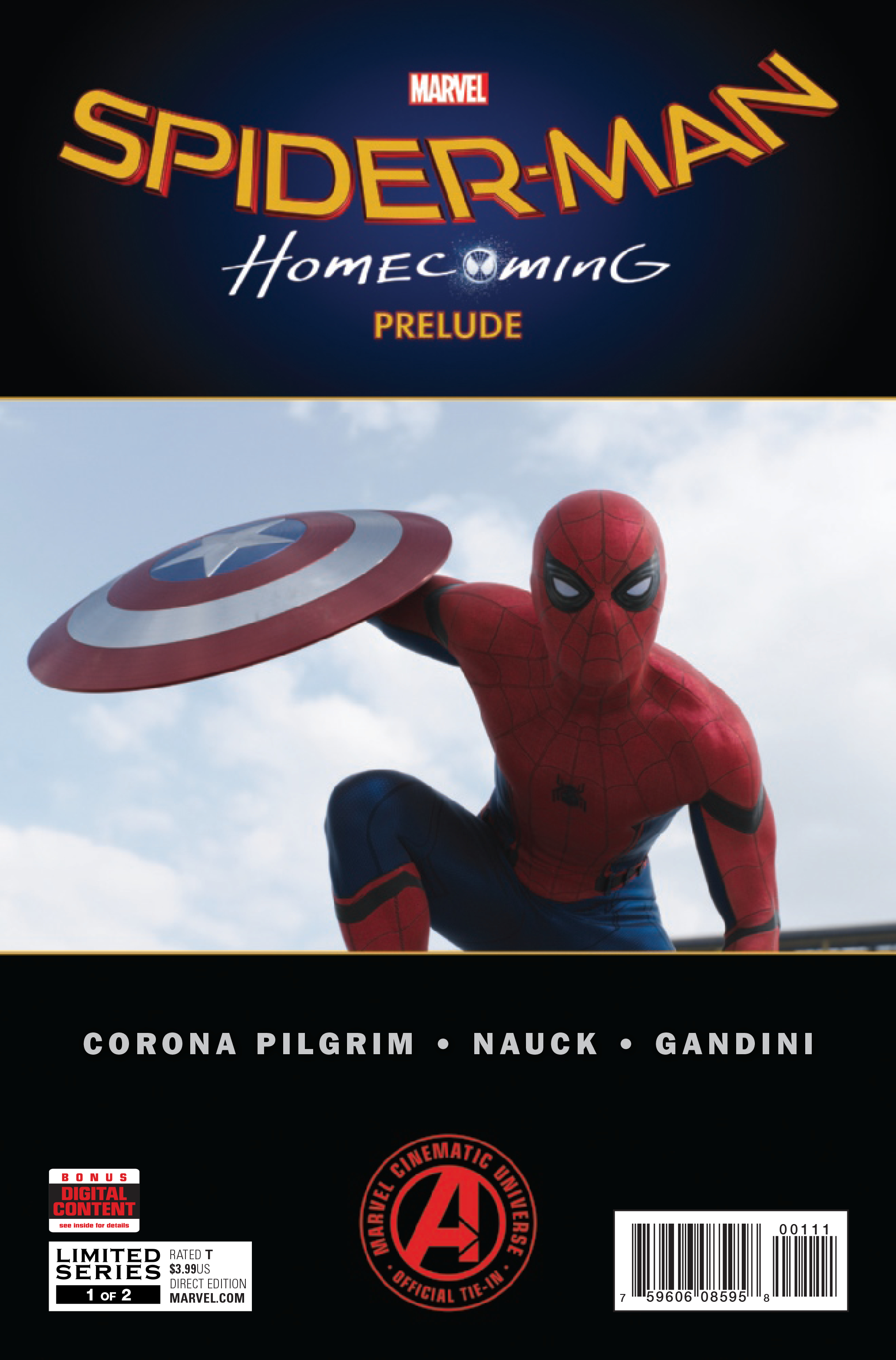 SPIDER-MAN HOMECOMING PRELUDE #1 (OF 2)