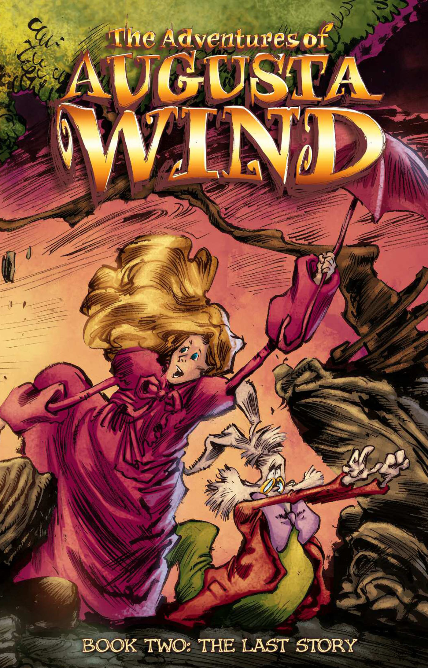 ADVENTURES OF AUGUSTA WIND HC VOL 02