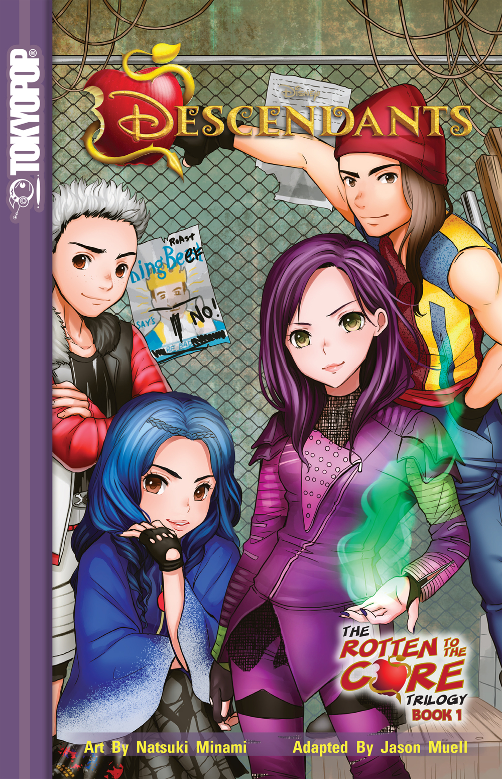 DISNEY DESCENDANTS ROTTEN TO THE CORE GN VOL 01