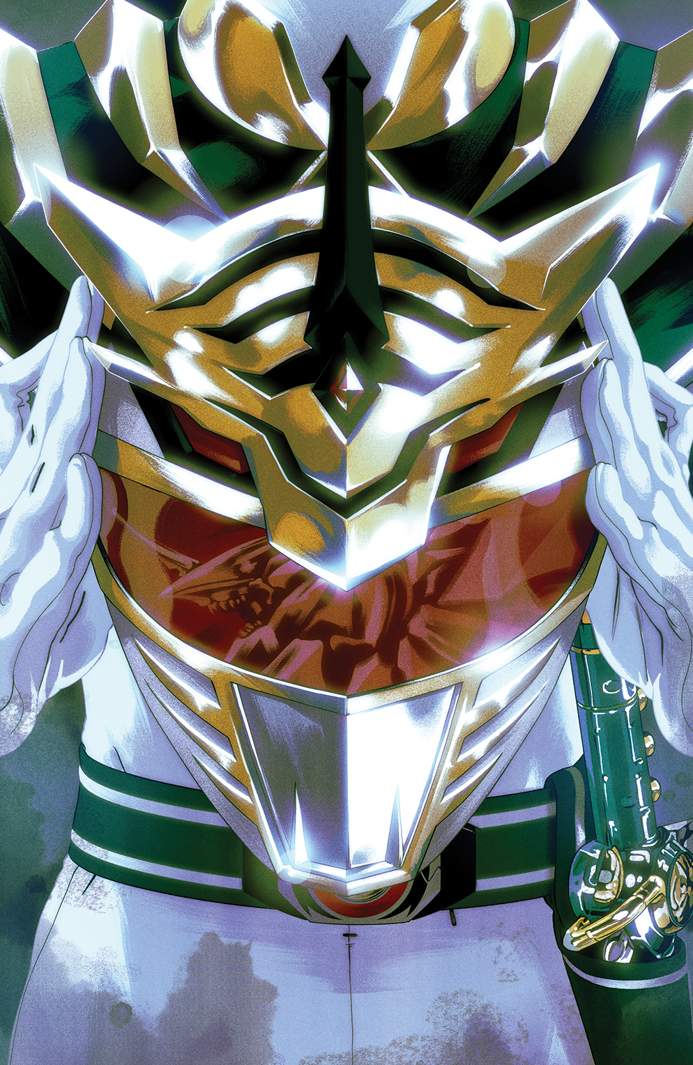 (USE SEP161431) MIGHTY MORPHIN POWER RANGERS #9 2ND PTG