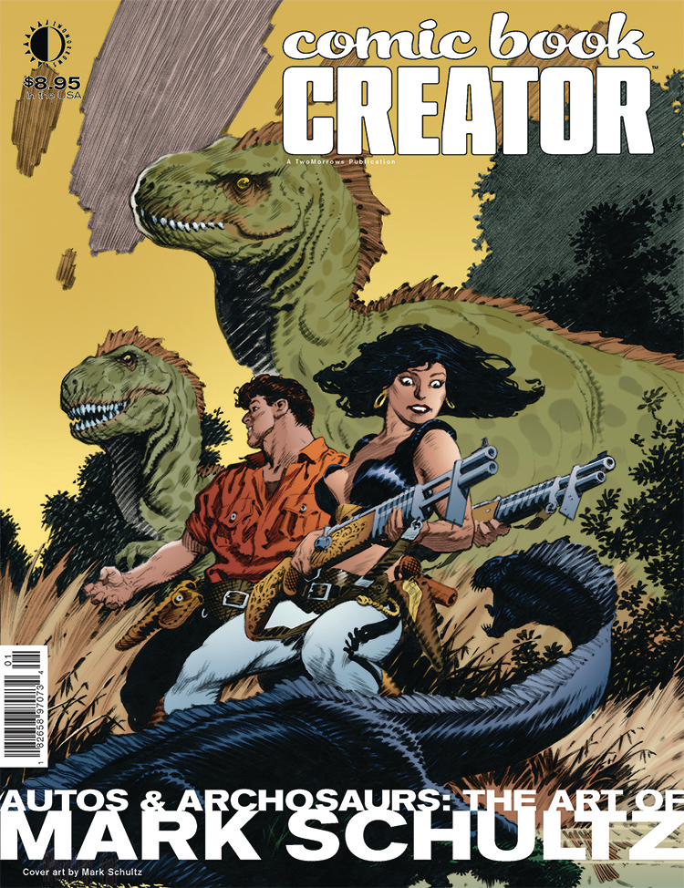 COMIC BOOK CREATOR #15 (RES)