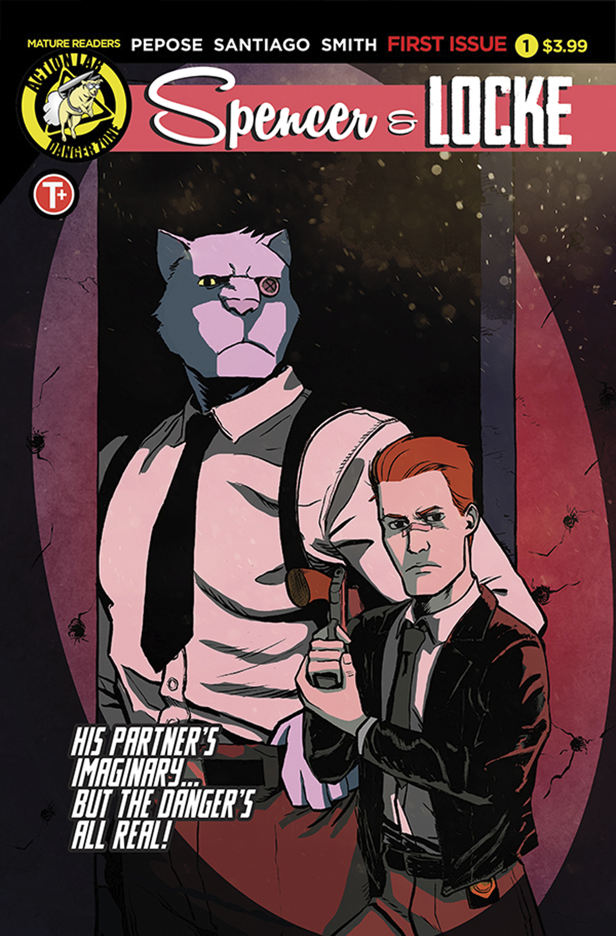 SPENCER AND LOCKE #1 (OF 4) CVR A SANTIAGO JR