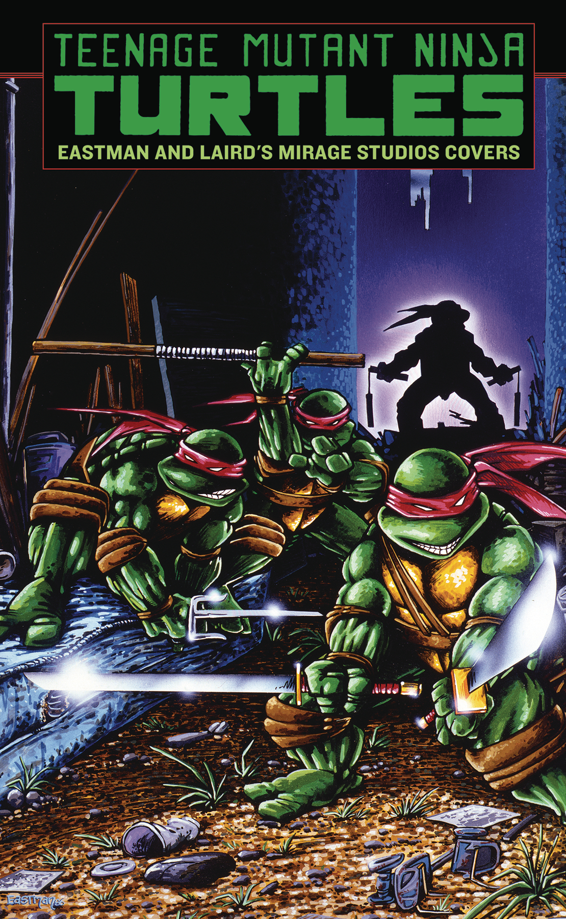 TMNT EASTMAN & LAIRD MIRAGE STUDIOS COVERS HC