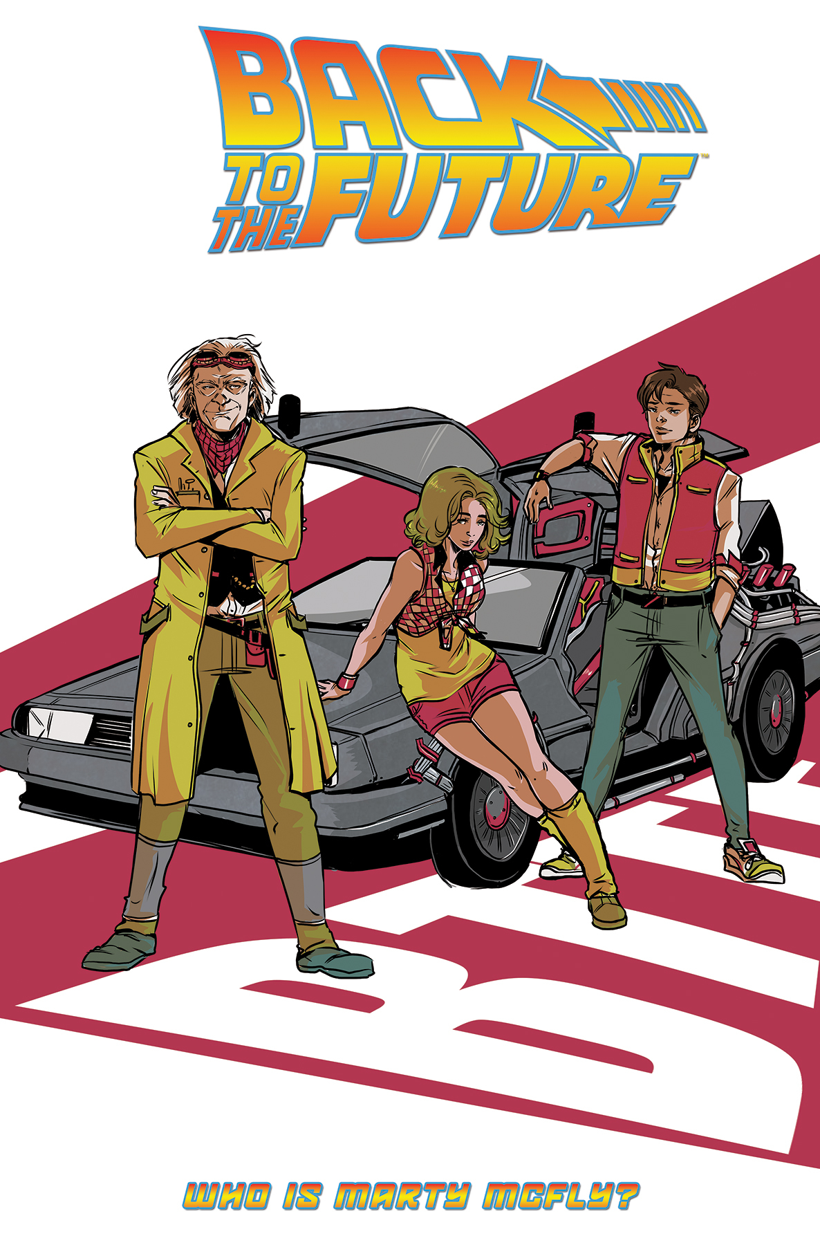 BACK TO THE FUTURE TP VOL 03 WHO IS MARTY MCFLY