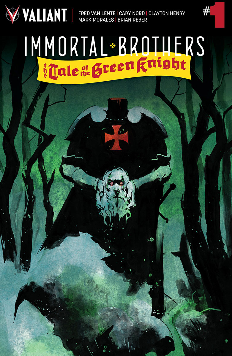 IMMORTAL BROTHERS GREEN KNIGHT #1 CVR A NORD