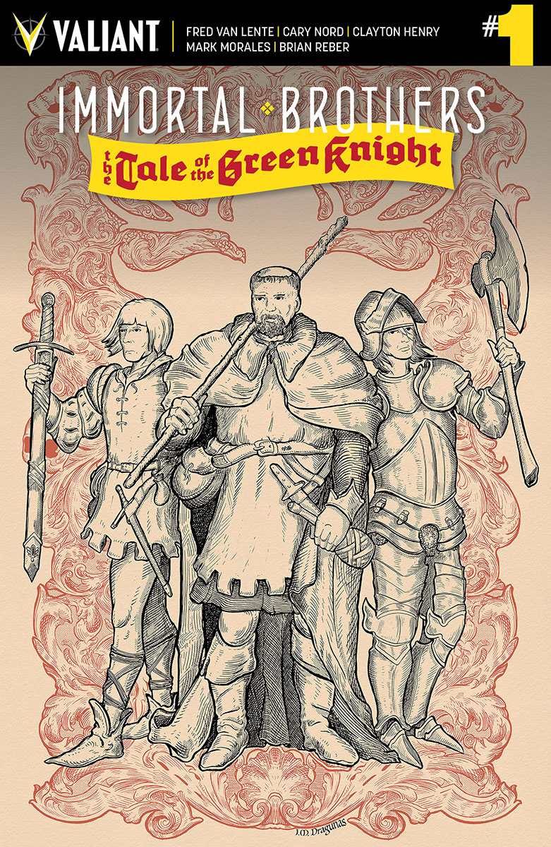 IMMORTAL BROTHERS GREEN KNIGHT #1 CVR D 20 COPY INCV DRAGUNA