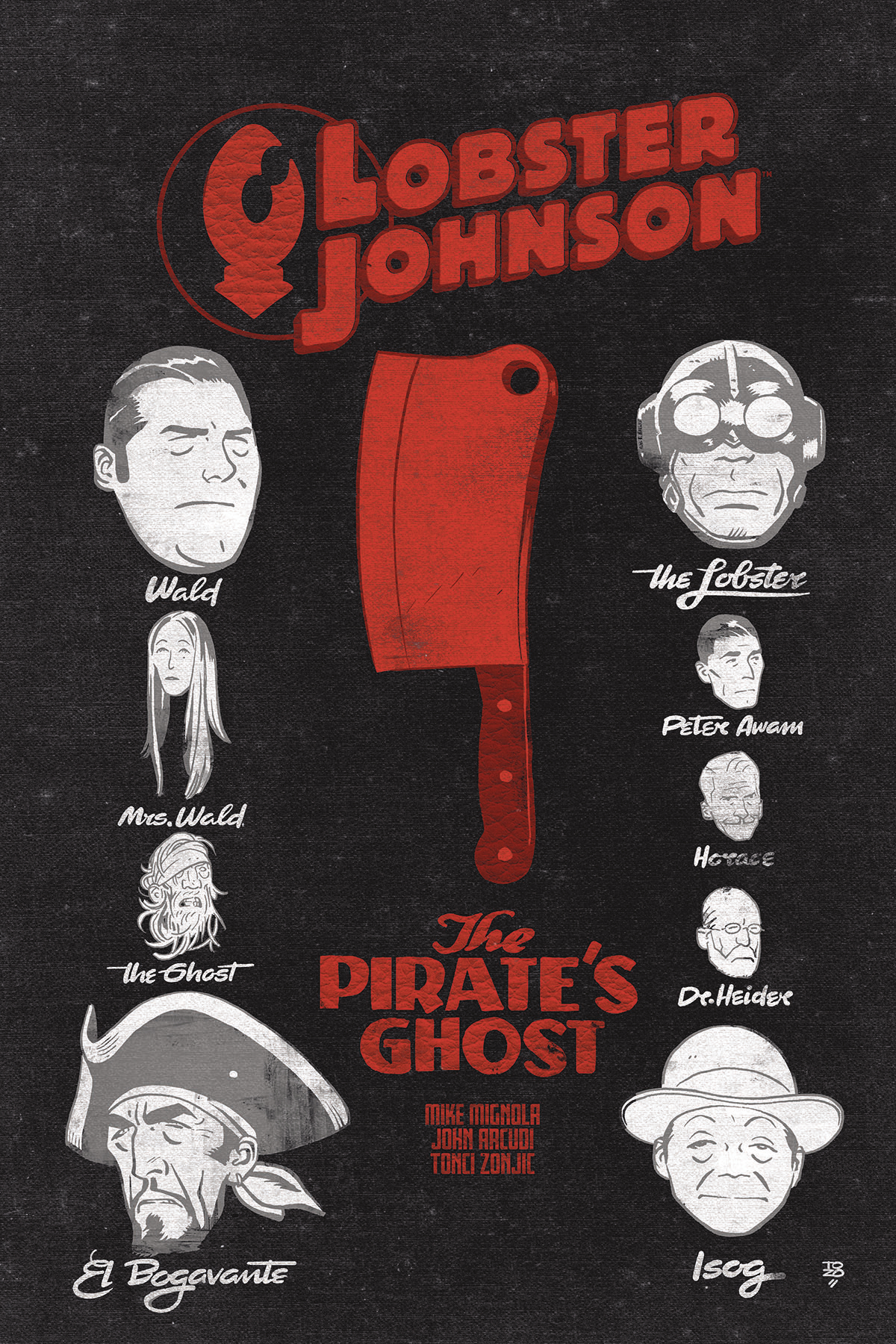 LOBSTER JOHNSON PIRATES GHOST #2