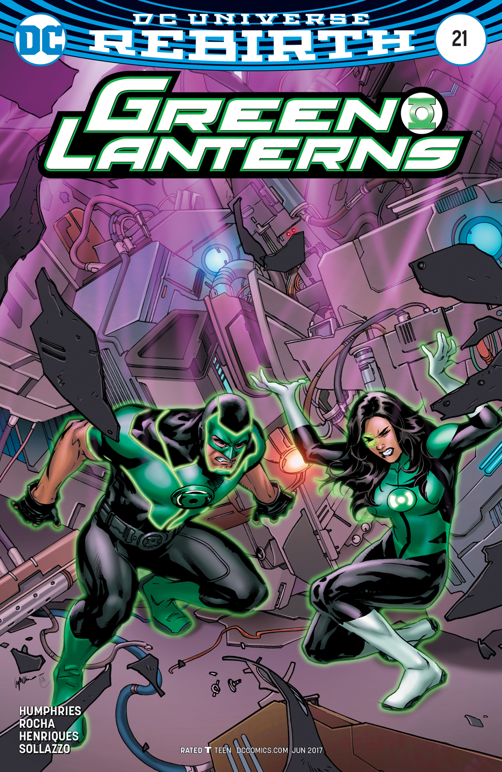 GREEN LANTERNS #21 VAR ED