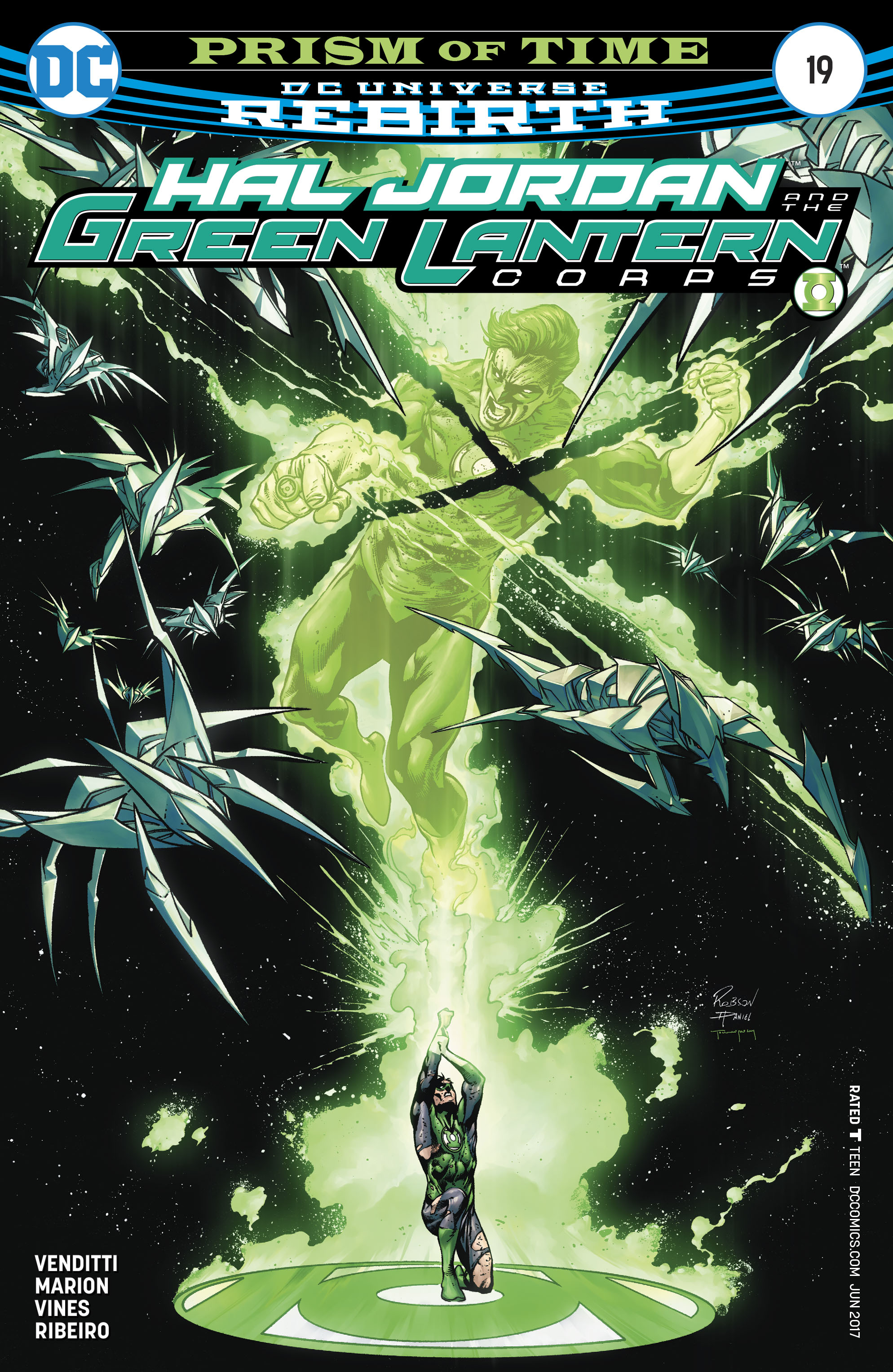 HAL JORDAN AND THE GREEN LANTERN CORPS #19