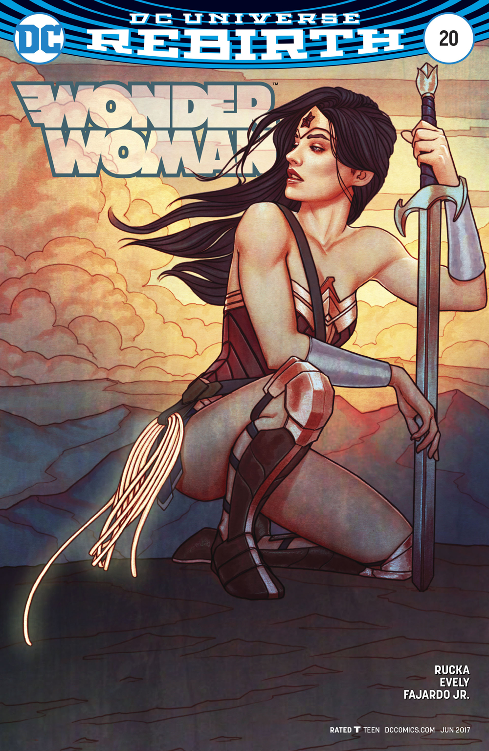 WONDER WOMAN #20 VAR ED