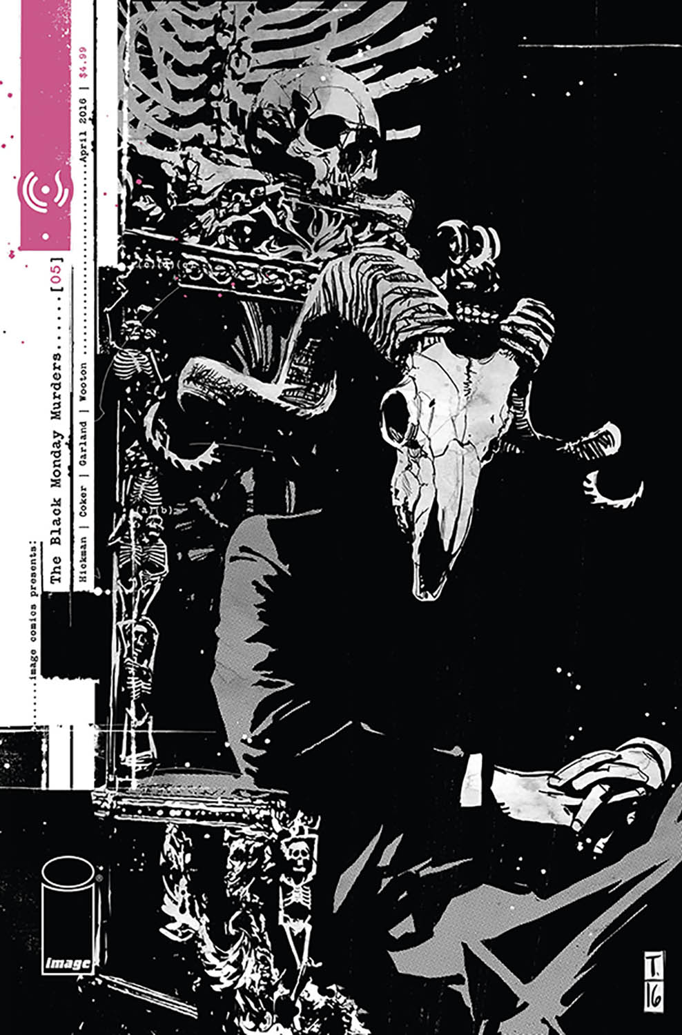 BLACK MONDAY MURDERS #5 (MR)